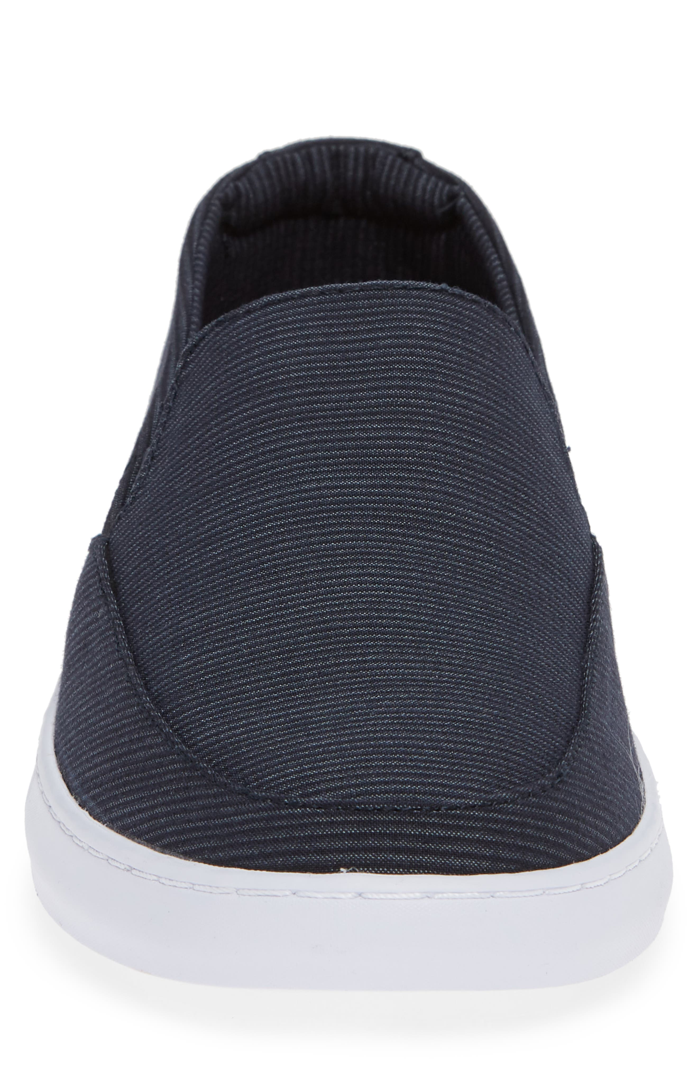 Cuater by Travis Mathew  Tracers Slip-On Sneaker,                             Alternate thumbnail 4, color,                             BLUE NIGHTS