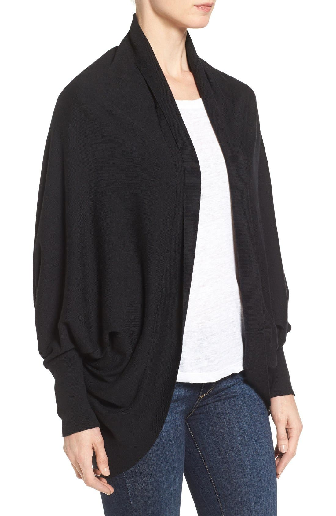 Knit Cocoon Cardigan,                             Alternate thumbnail 24, color,