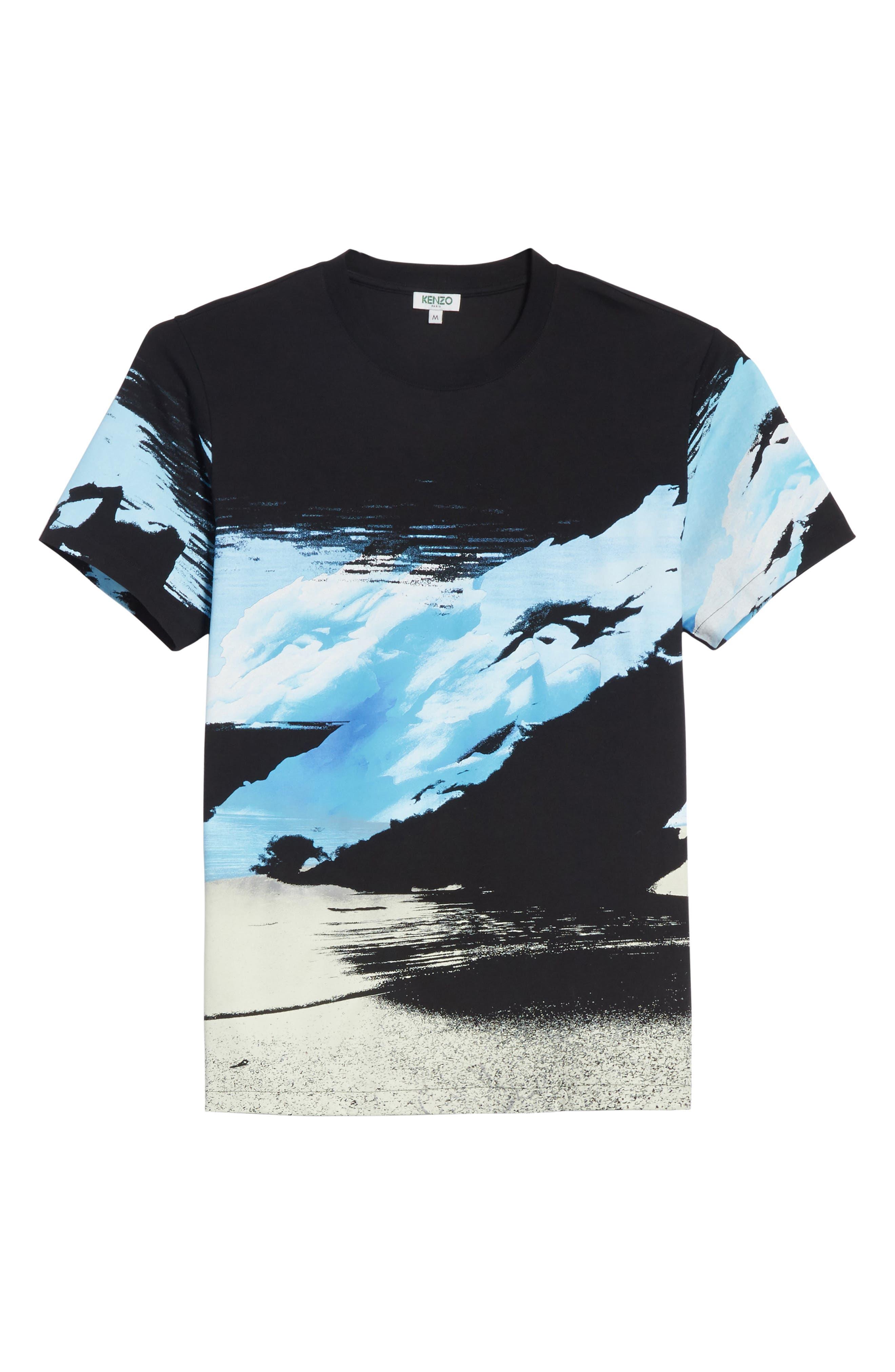 Abstract Landscape T-Shirt,                             Alternate thumbnail 6, color,                             452