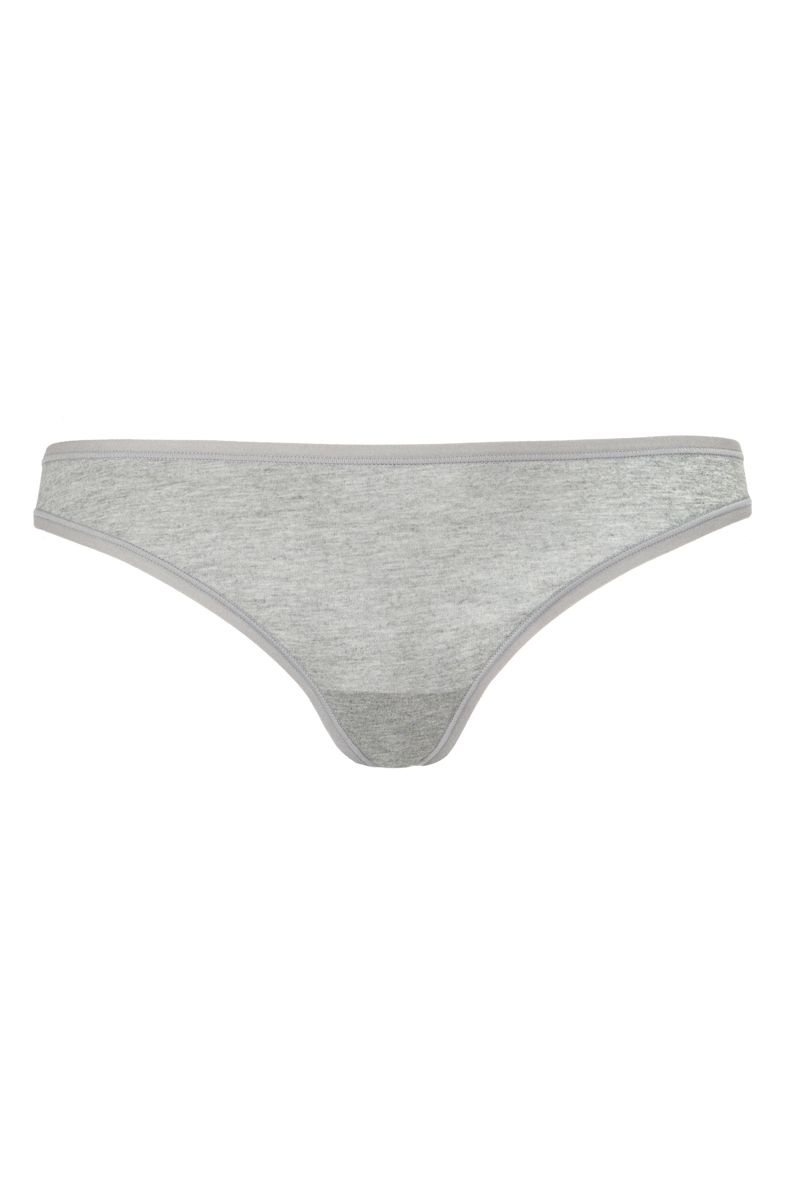 The All Day Thong,                             Alternate thumbnail 4, color,                             HEATHER GREY