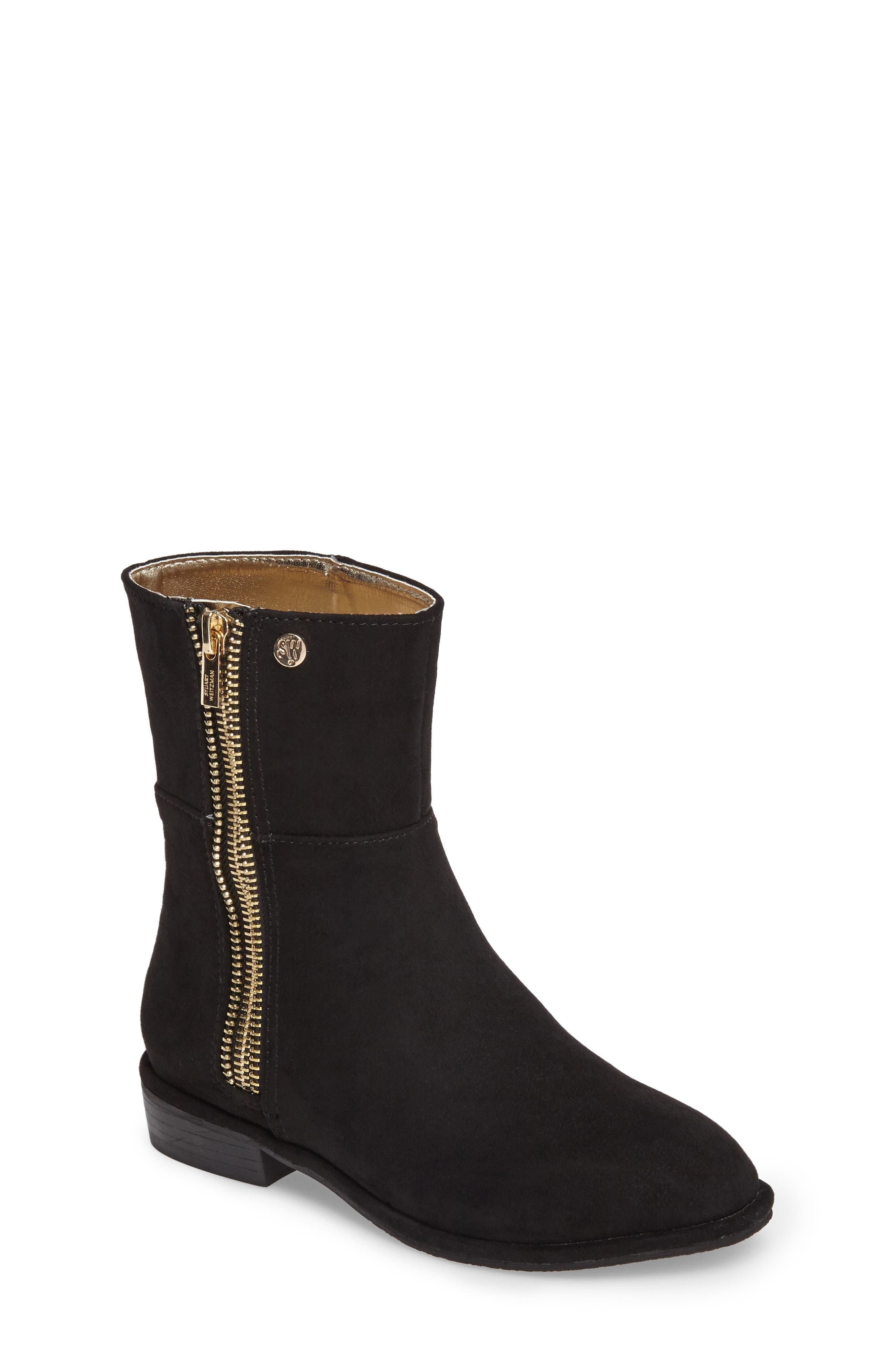Zipper Boot,                         Main,                         color, 001