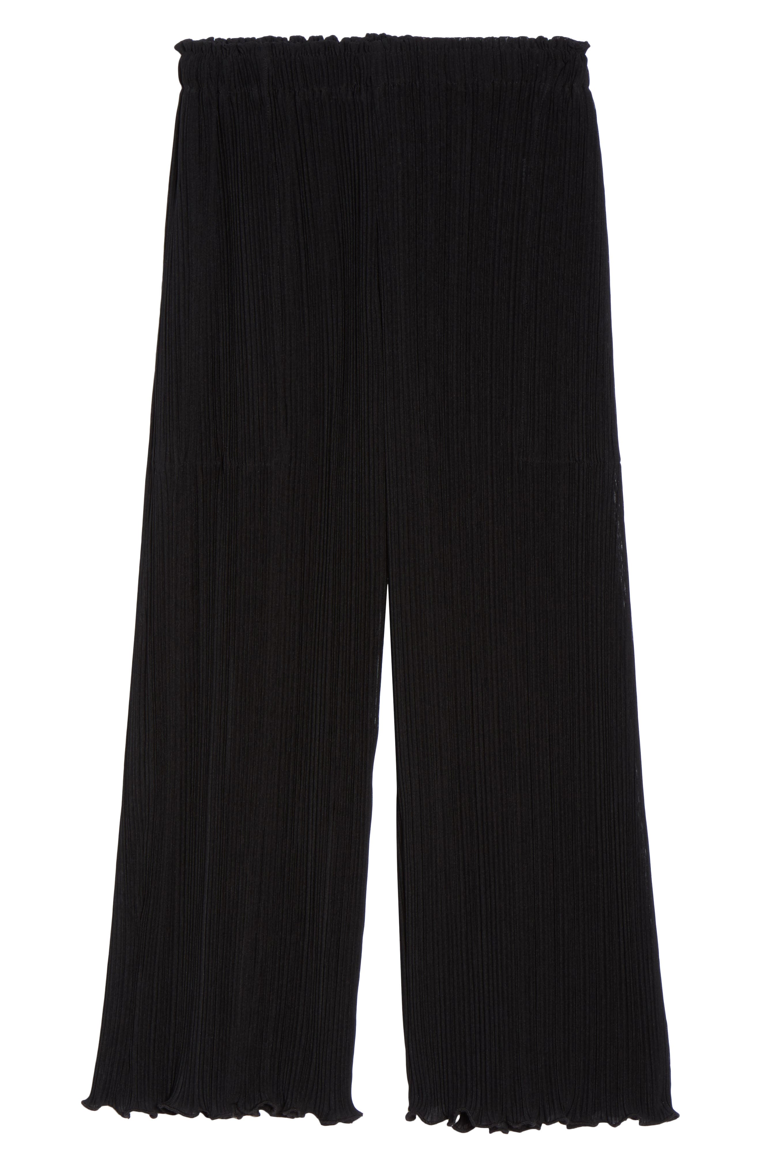 Mika Pleated Lounge Pants,                             Alternate thumbnail 6, color,                             009