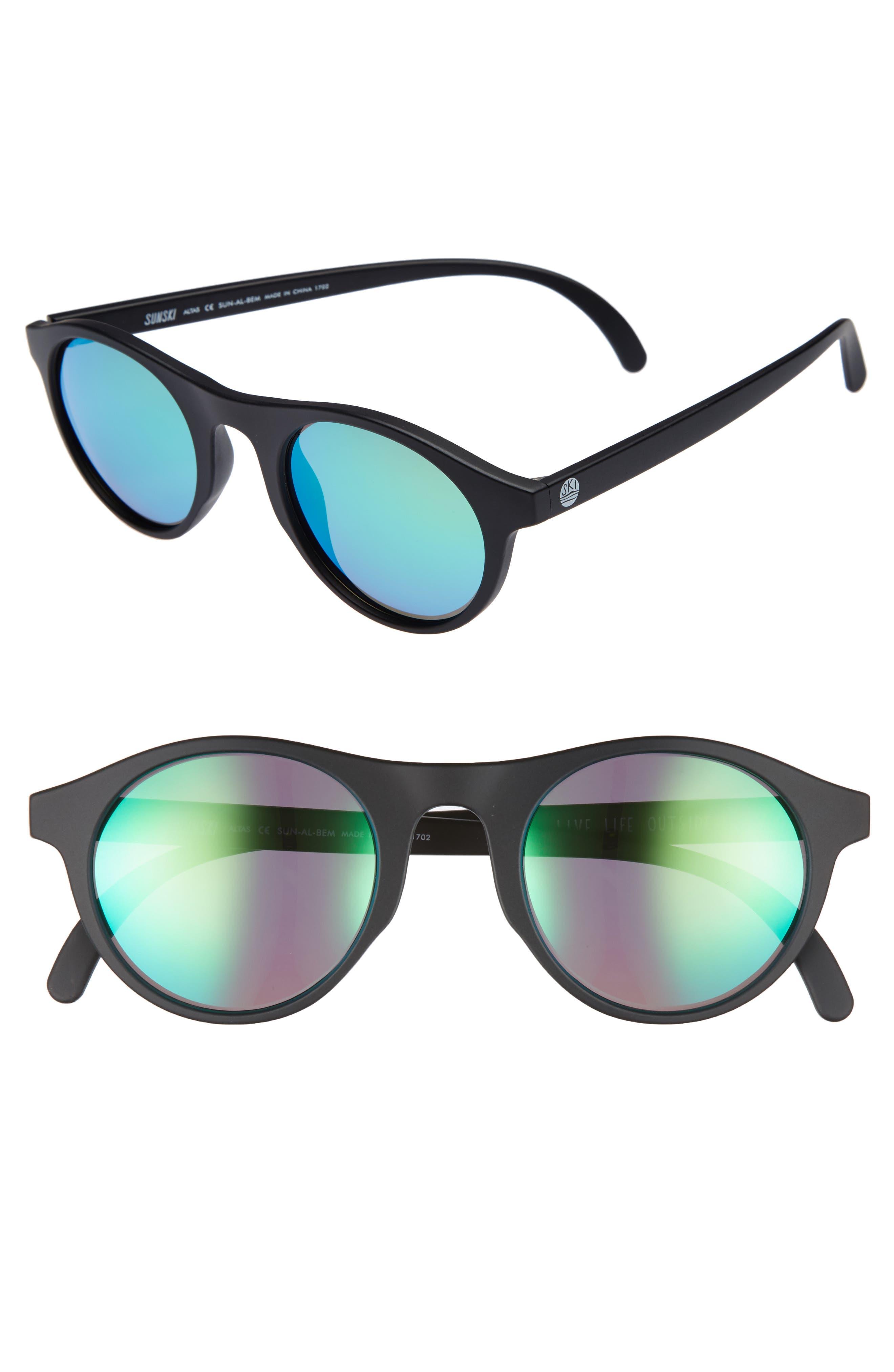 e511f72430 Sunski Alta 47Mm Sunglasses - Black Emerald