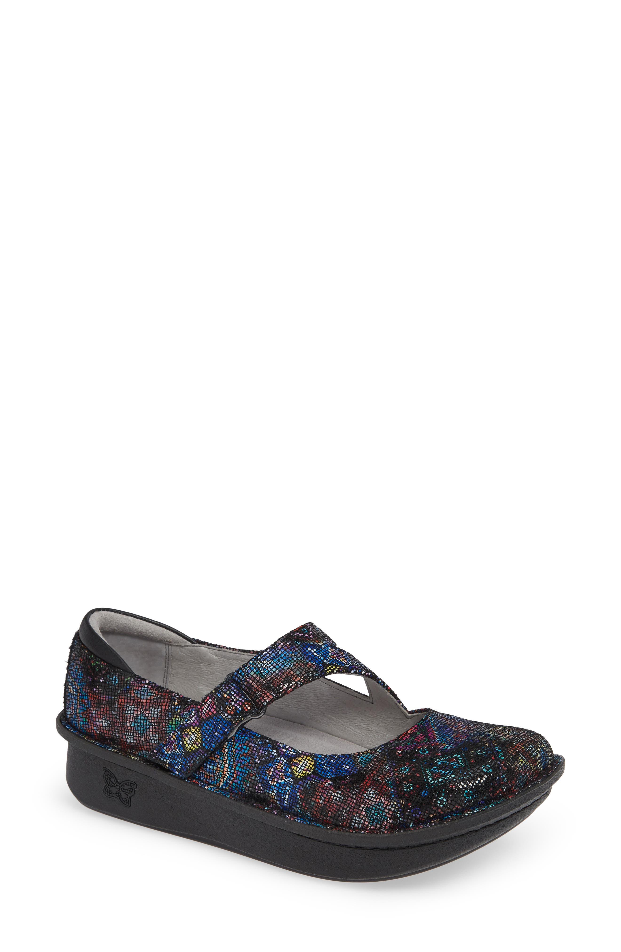 ALEGRIA,                             'Dayna' Slip-On,                             Main thumbnail 1, color,                             BEAUTY BLUR LEATHER