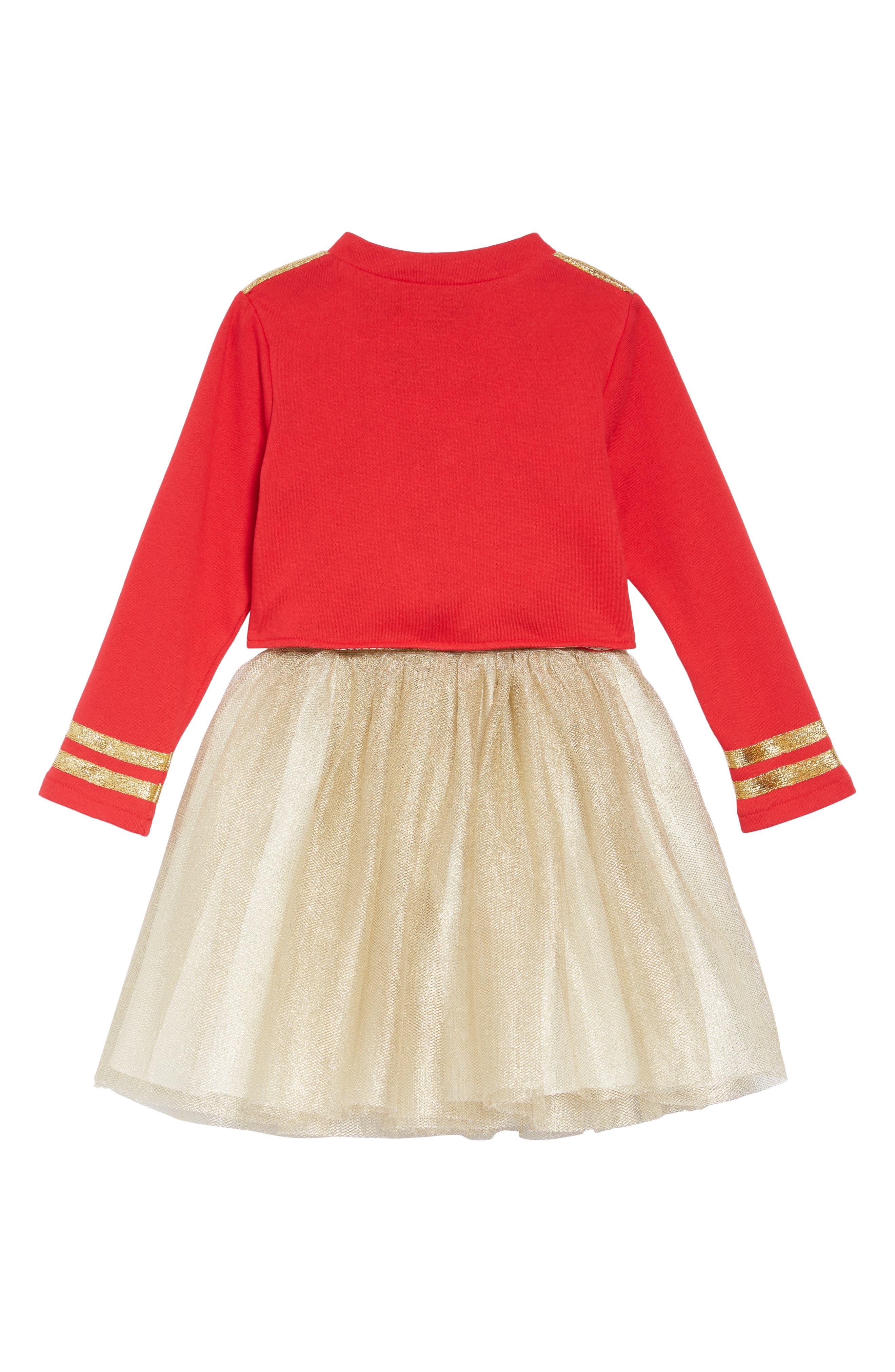 PIPPA & JULIE,                             x Disney<sup>®</sup> Mickey Mouse<sup>®</sup> Majorette Jacket & Tank Dress Set,                             Alternate thumbnail 2, color,                             643