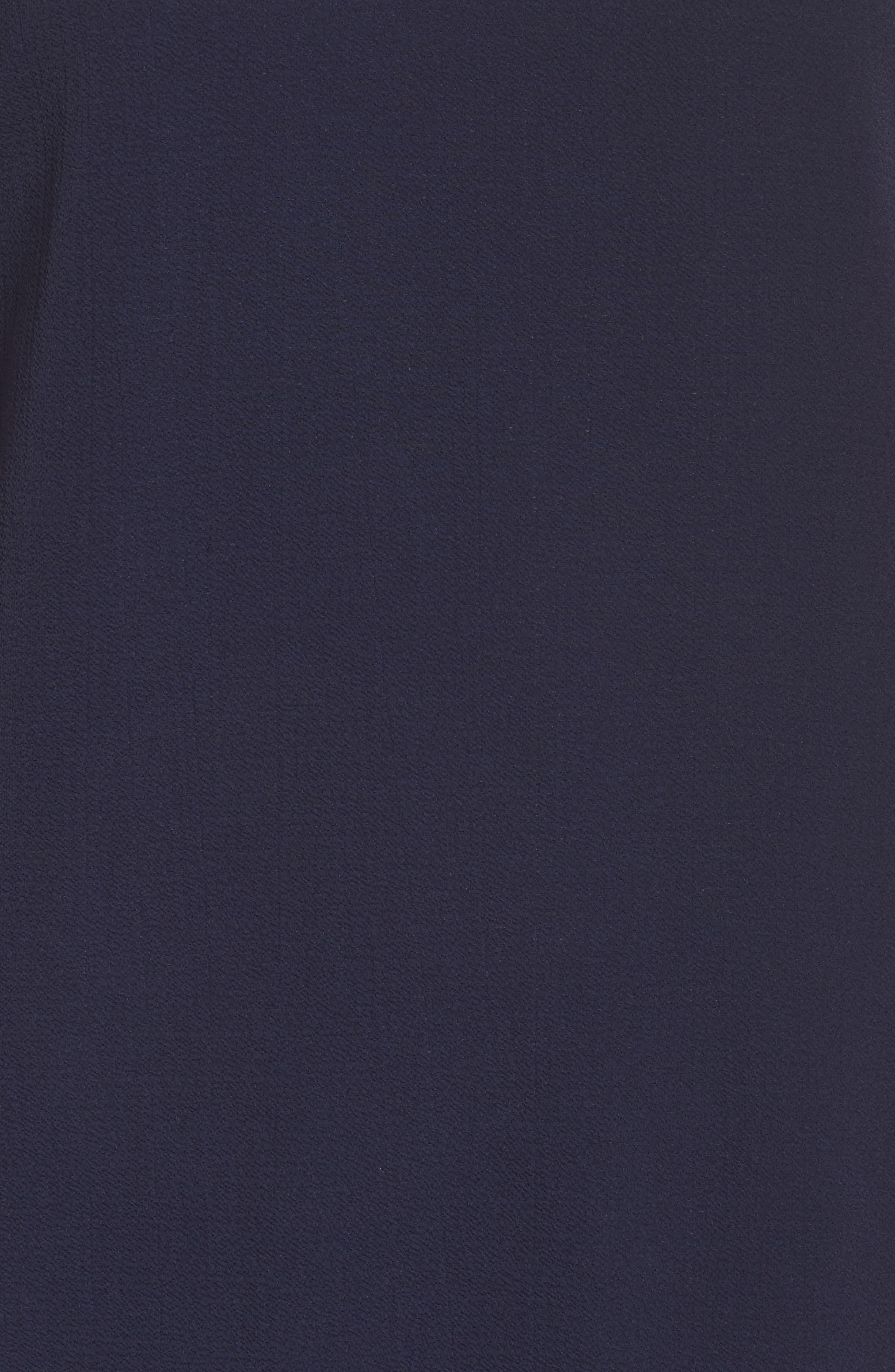 V-Back Shift Dress,                             Alternate thumbnail 6, color,                             410