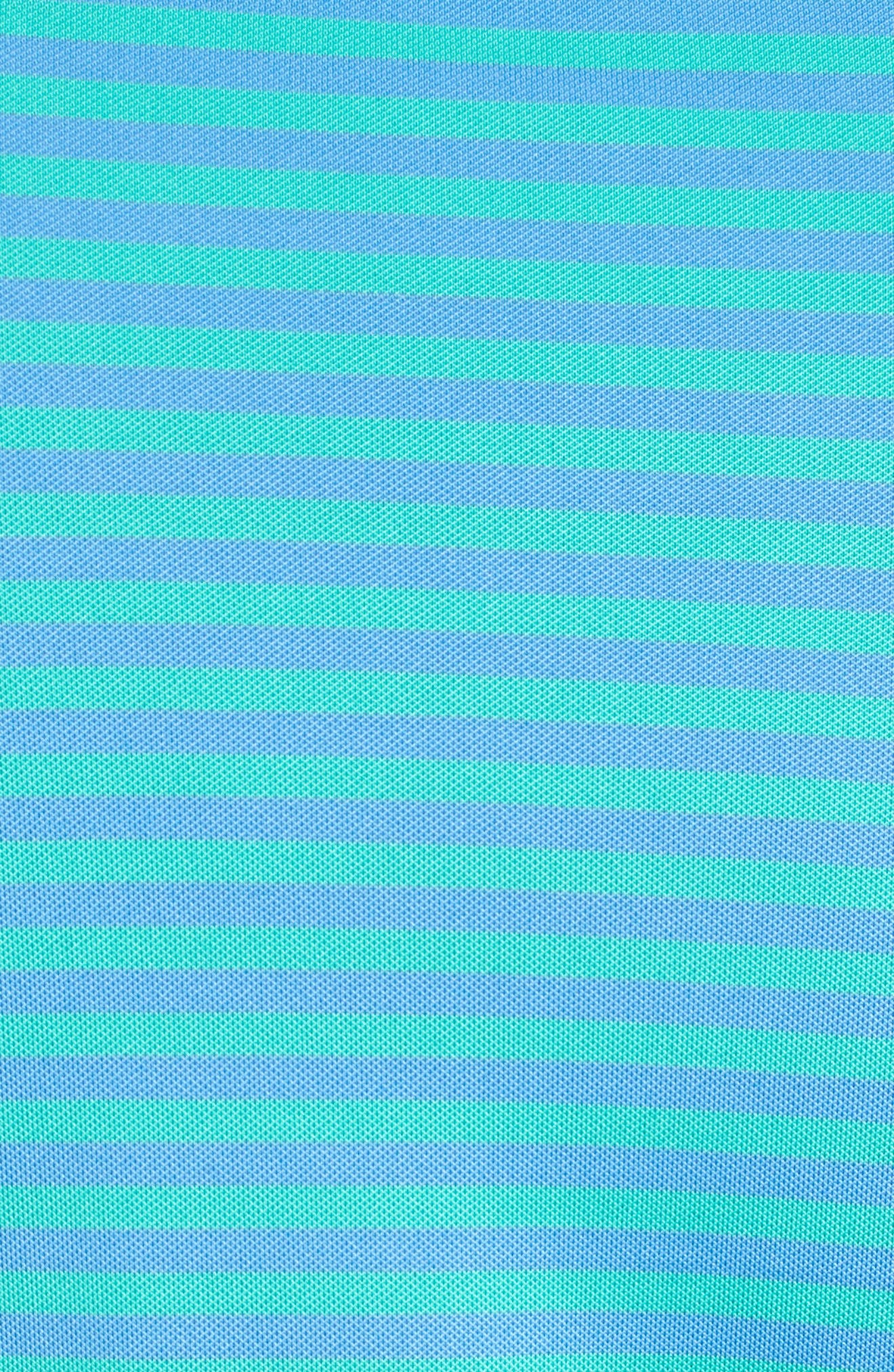 XH2O Feed Stripe Polo,                             Alternate thumbnail 5, color,                             346