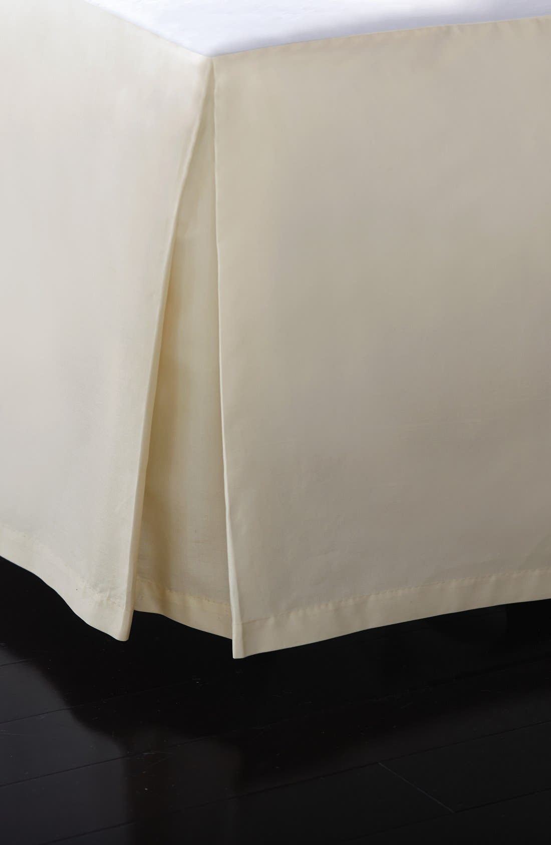 Donna Karan Collection 'Reflection' 510 Thread Count Bed Skirt,                             Main thumbnail 1, color,                             CHAMPAGNE