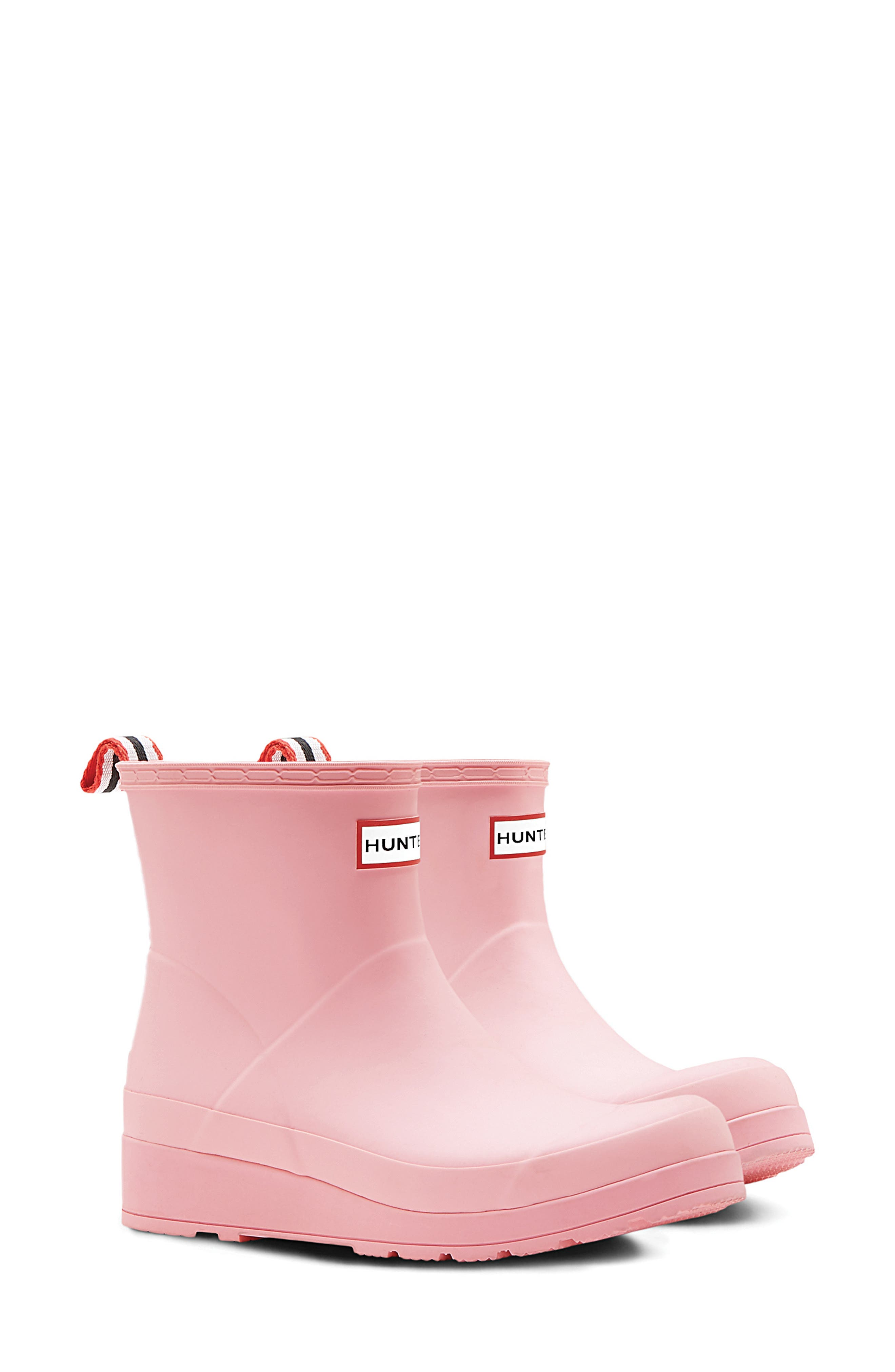 Hunter Original Play Waterproof Rain Bootie, Pink
