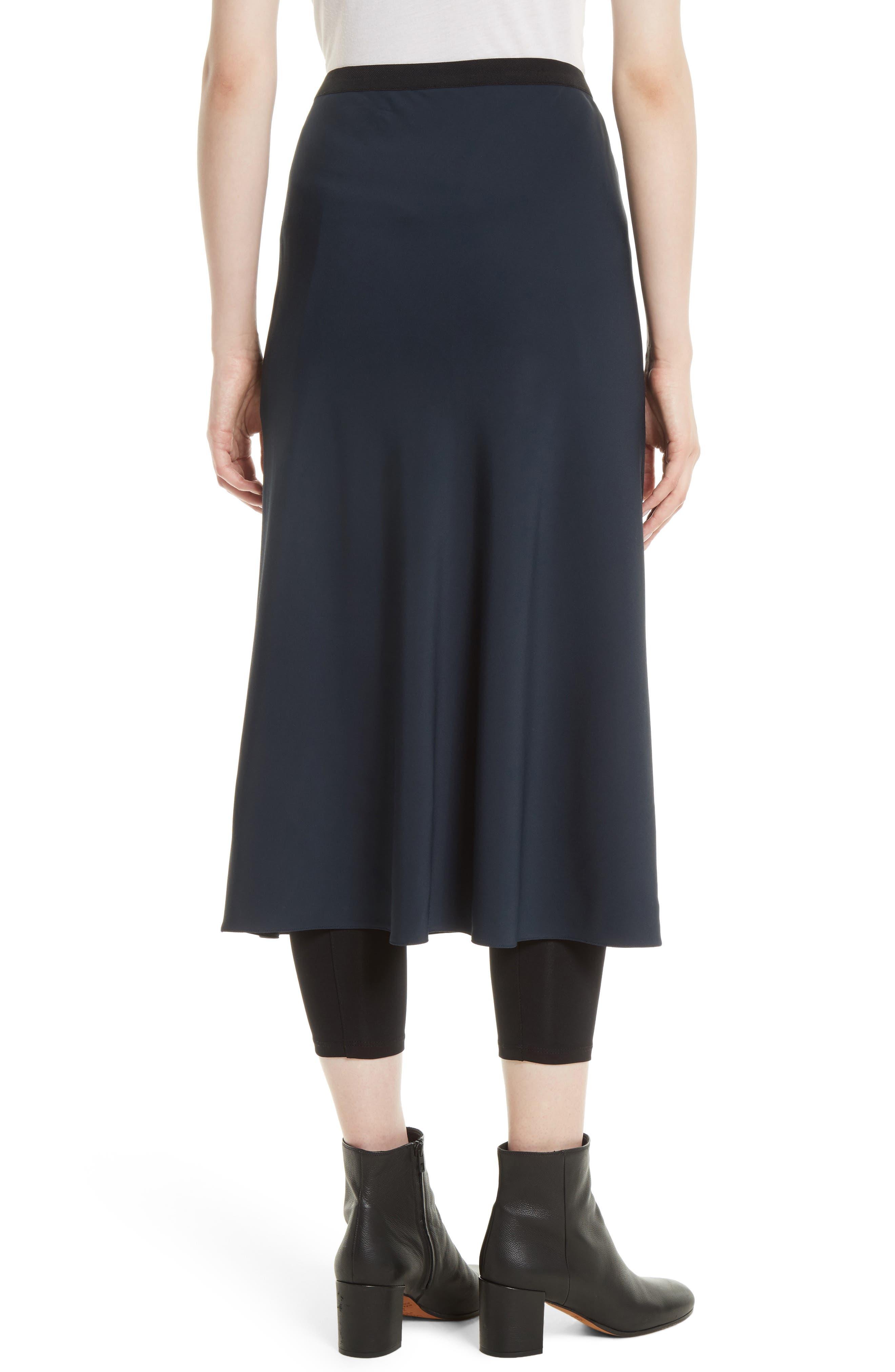 Elastic Waist Slip Skirt,                             Alternate thumbnail 2, color,                             403