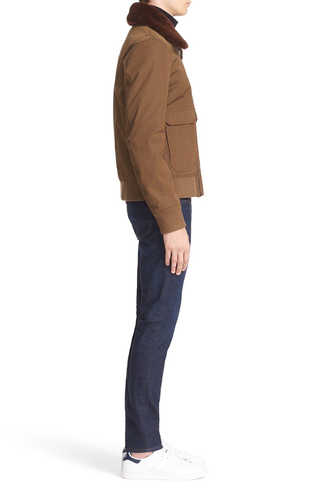 Ace Slim Fit Jeans,                             Alternate thumbnail 5, color,                             400