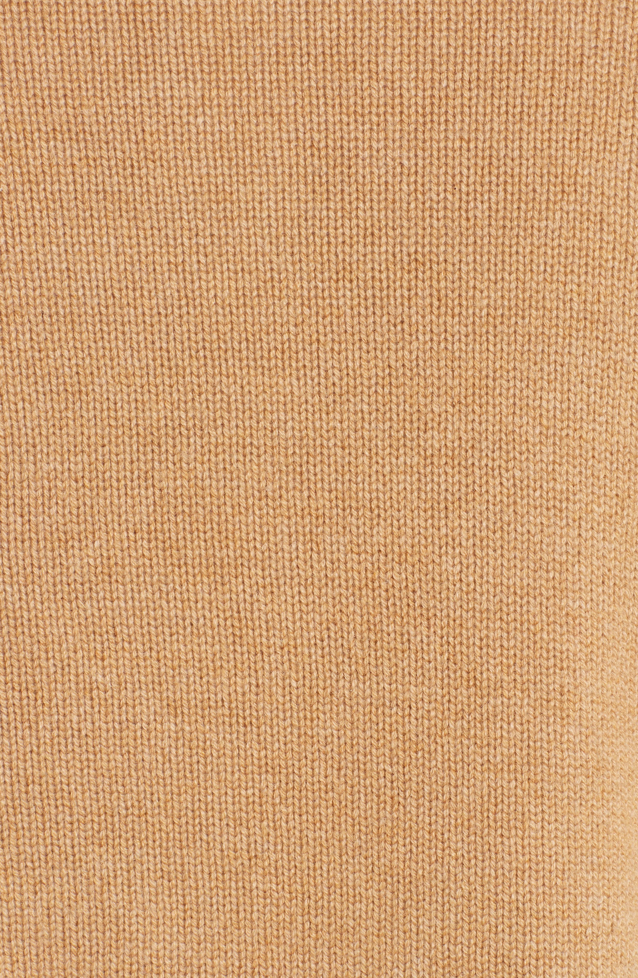 Cat Intarsia Cashmere, Wool & Mohair Blend Sweater,                             Alternate thumbnail 5, color,