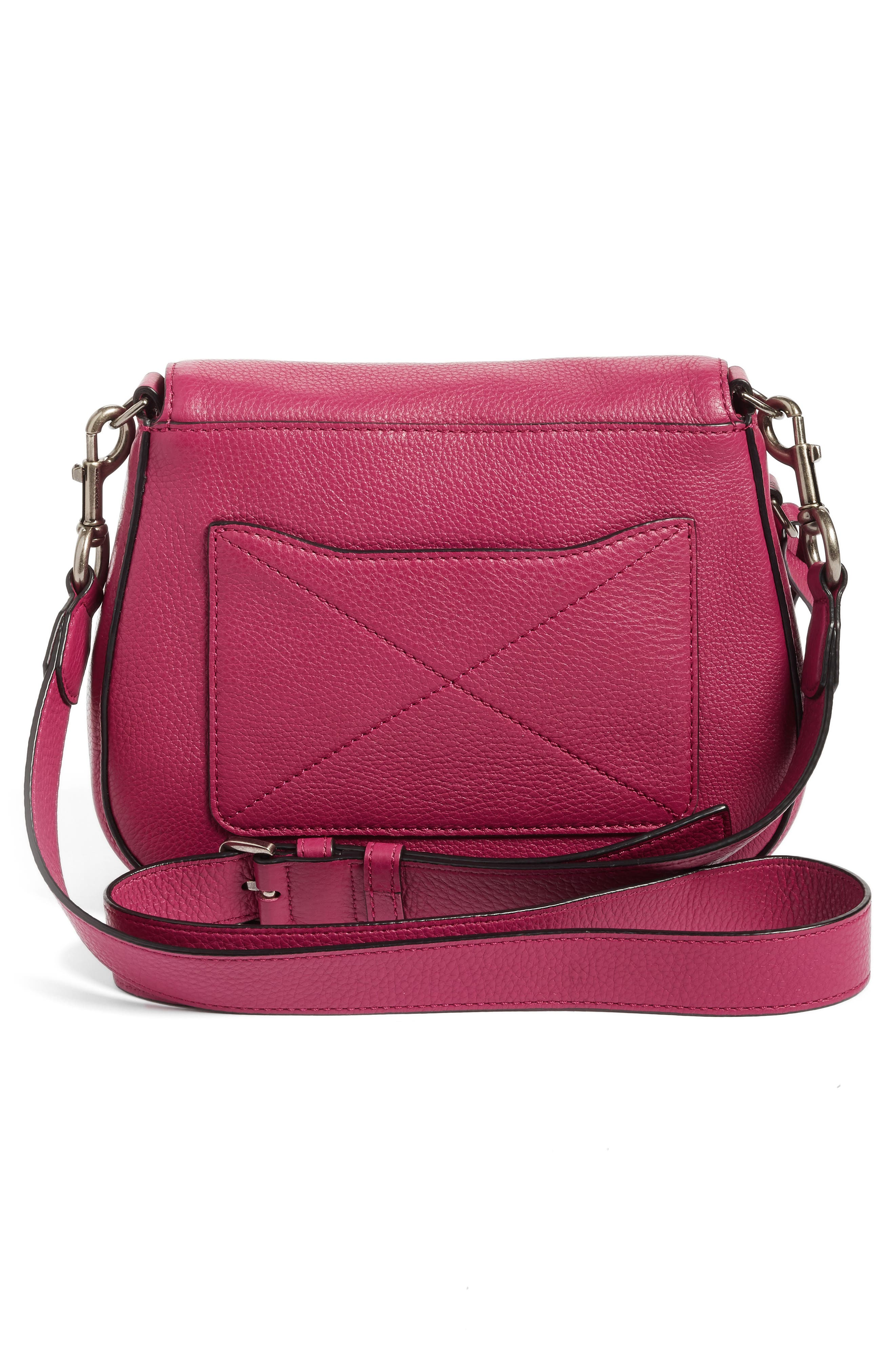 Small Recruit Nomad Pebbled Leather Crossbody Bag,                             Alternate thumbnail 55, color,