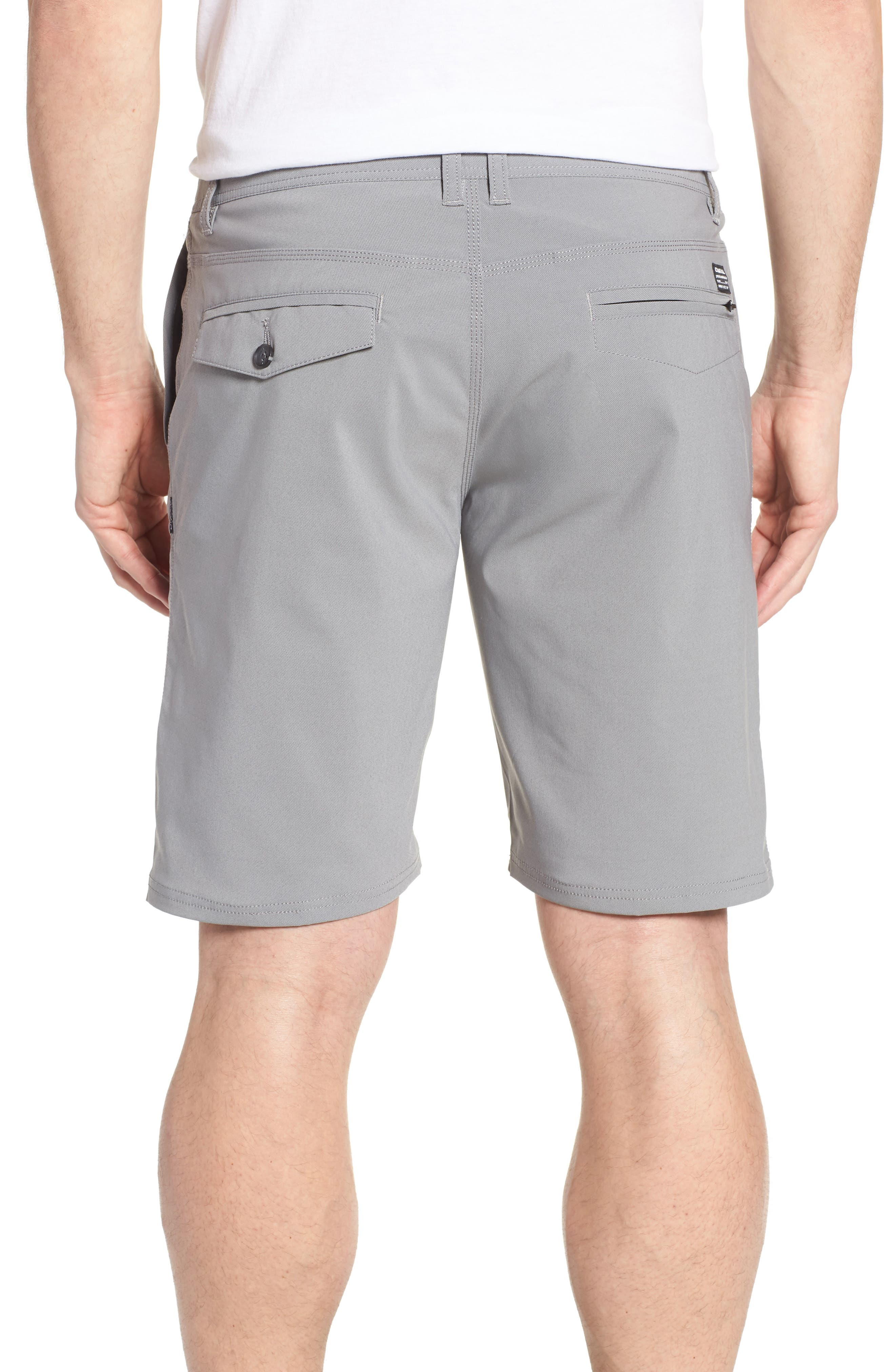 Stockton Hybrid Shorts,                             Alternate thumbnail 2, color,                             GREY