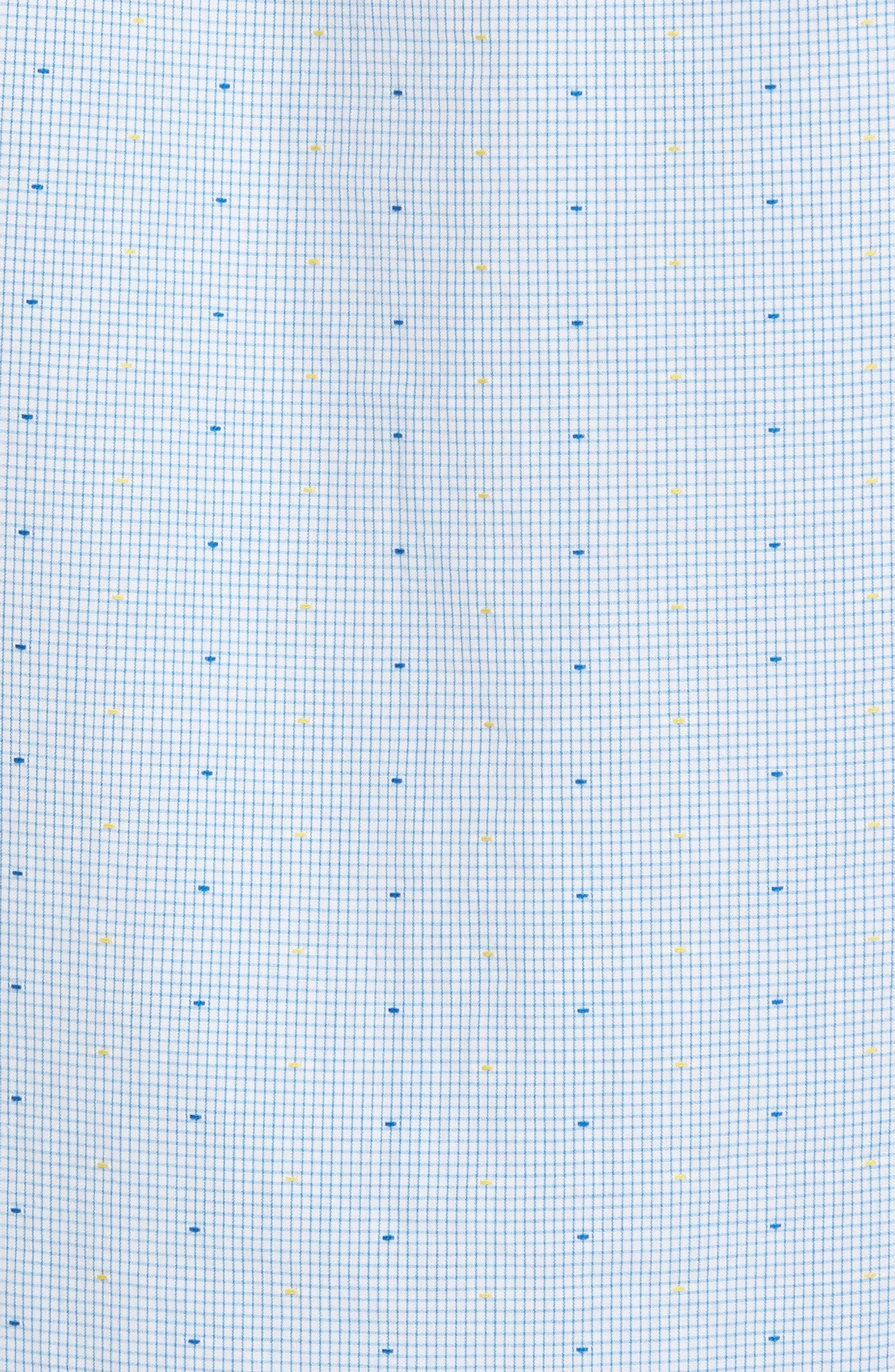 Clipped Dobby Woven Shirt,                             Alternate thumbnail 5, color,                             118