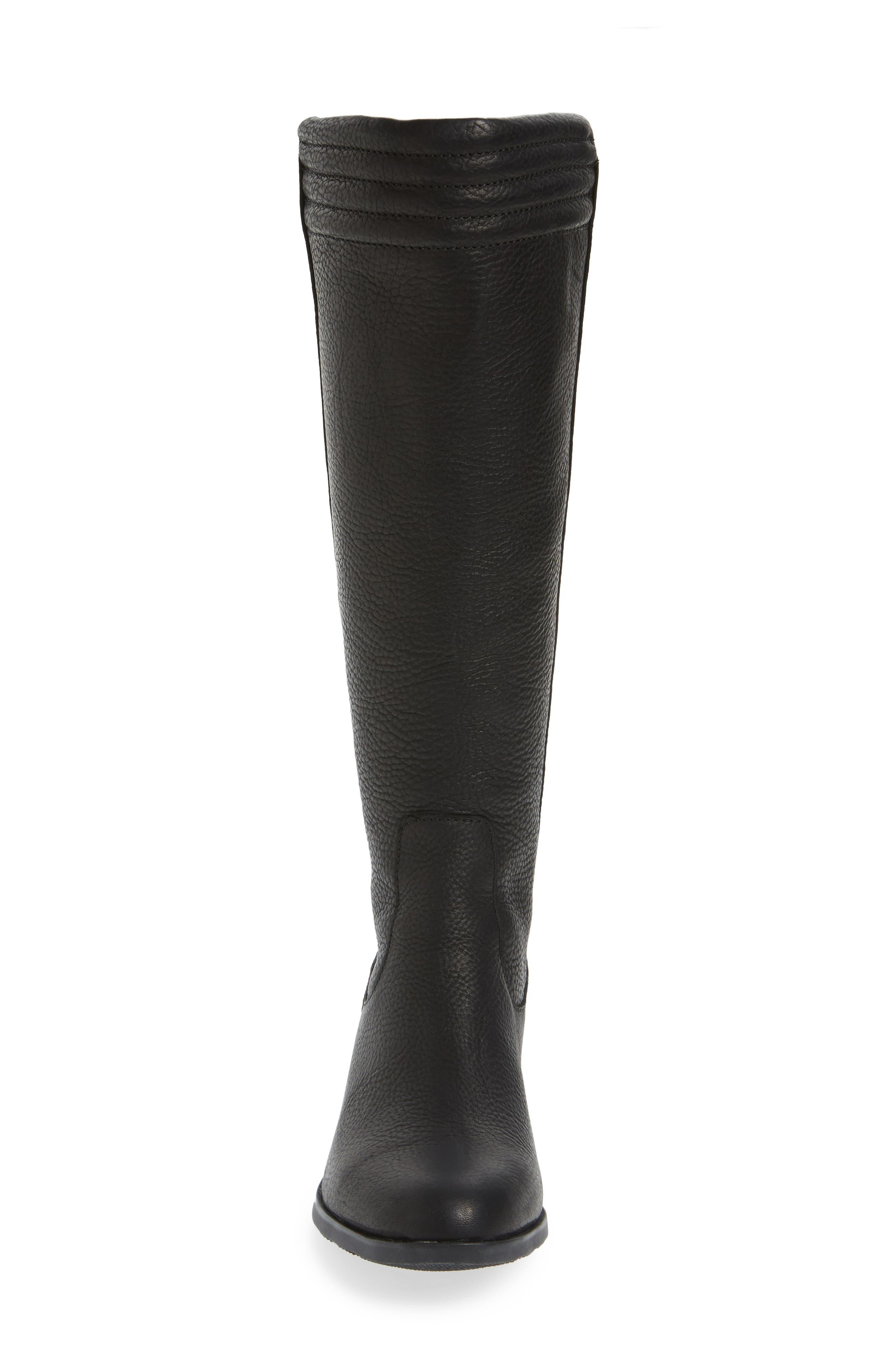 Danica Waterproof Knee High Boot,                             Alternate thumbnail 4, color,                             010