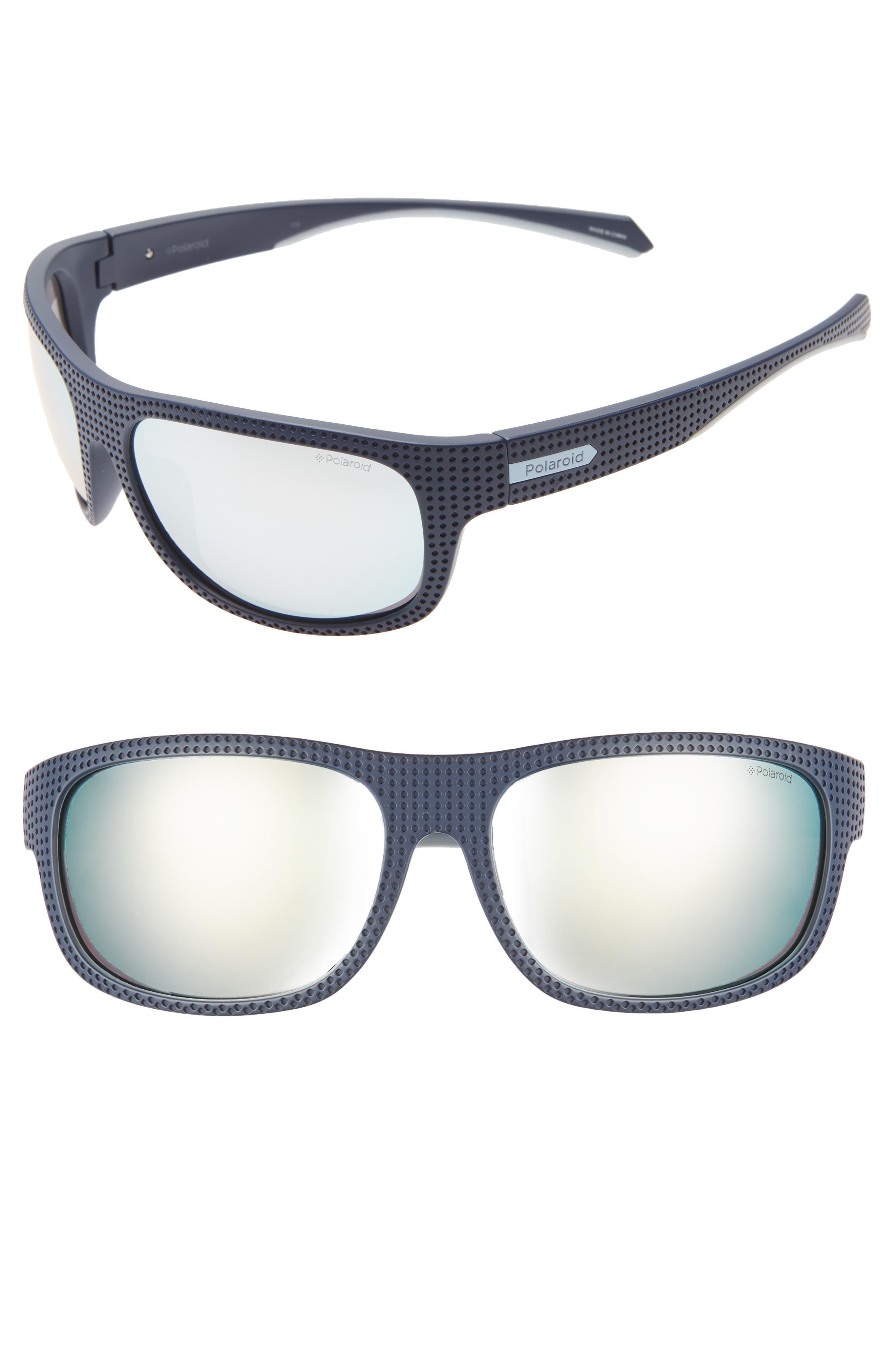 Polaroid Plastic Wrap 6m Polarized Sunglasses - Blue
