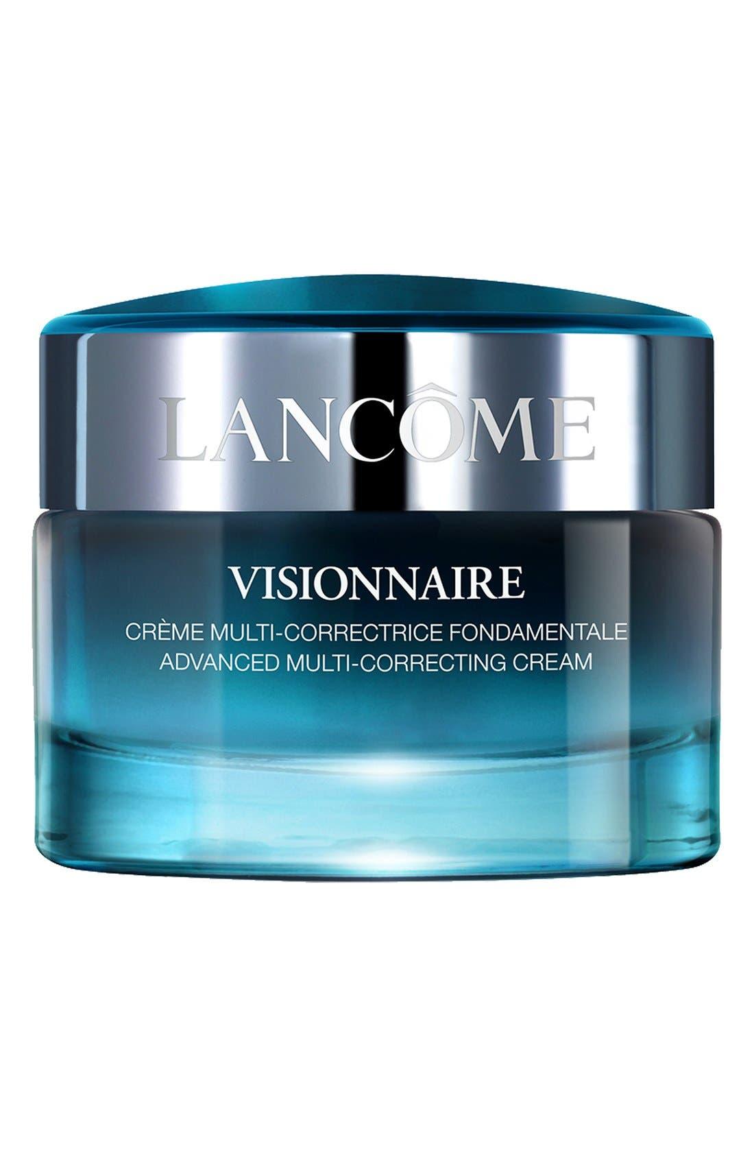 LANCÔME,                             Visionnaire Advanced Multi-Correcting Moisturizer Cream,                             Main thumbnail 1, color,                             NO COLOR