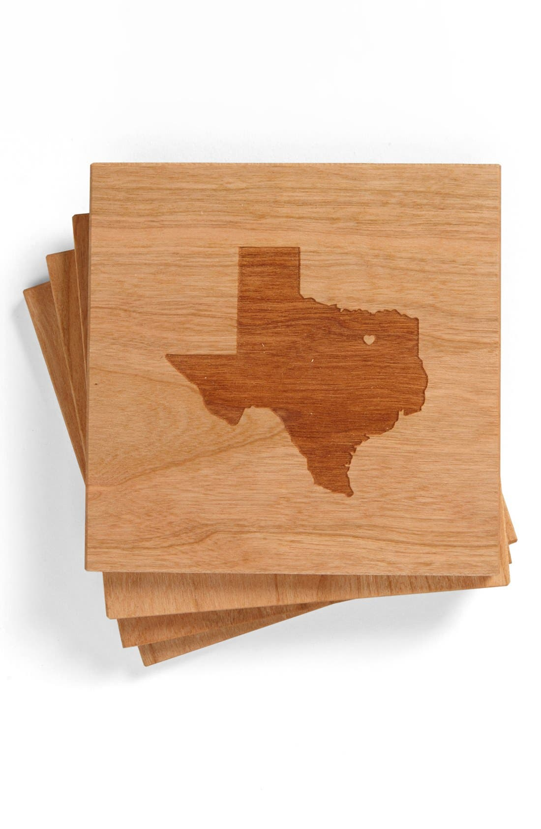 'State Silhouette' Coasters,                             Main thumbnail 15, color,