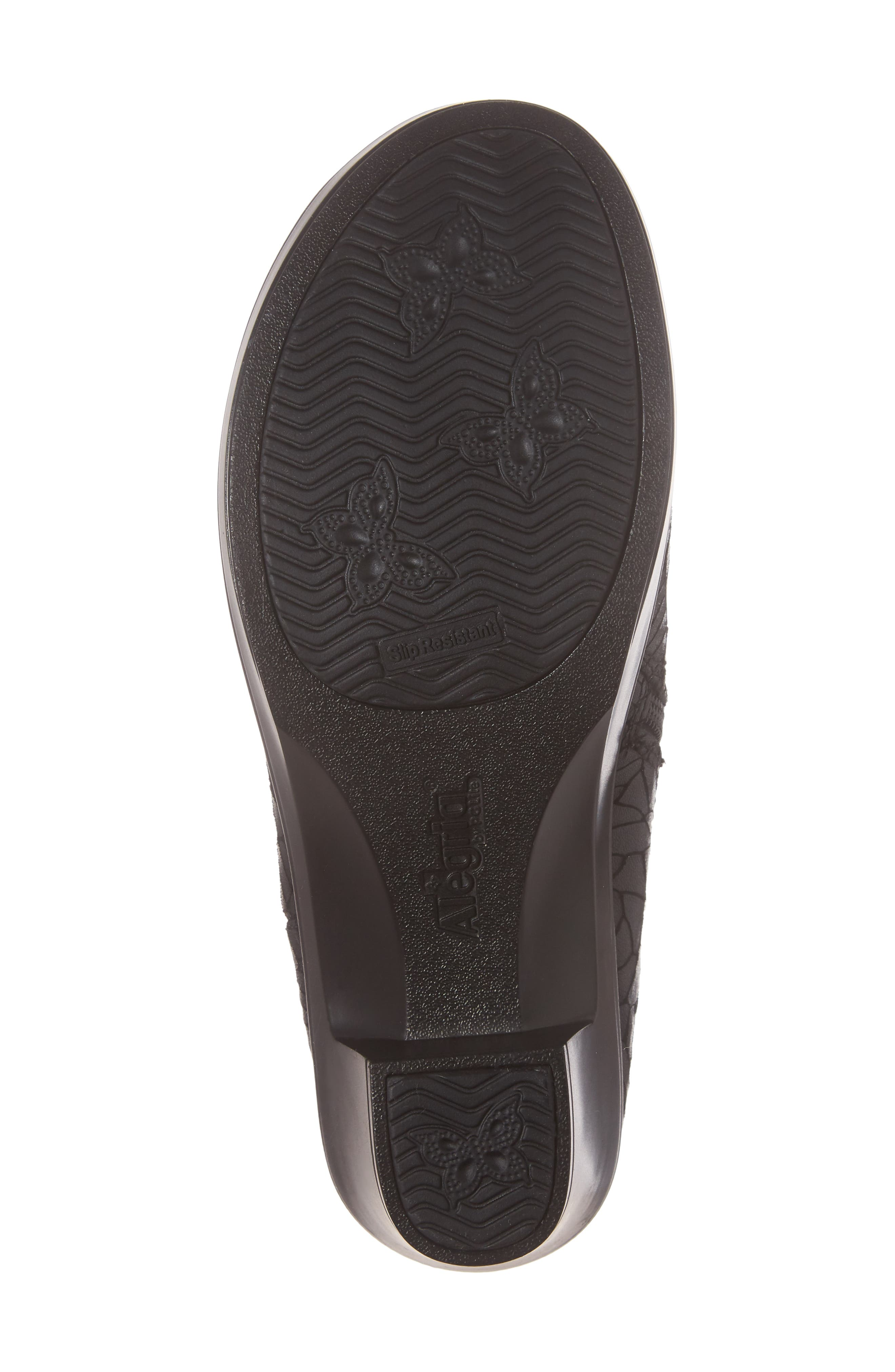 Hayden Bootie,                             Alternate thumbnail 6, color,                             FLORAL NOTES LEATHER