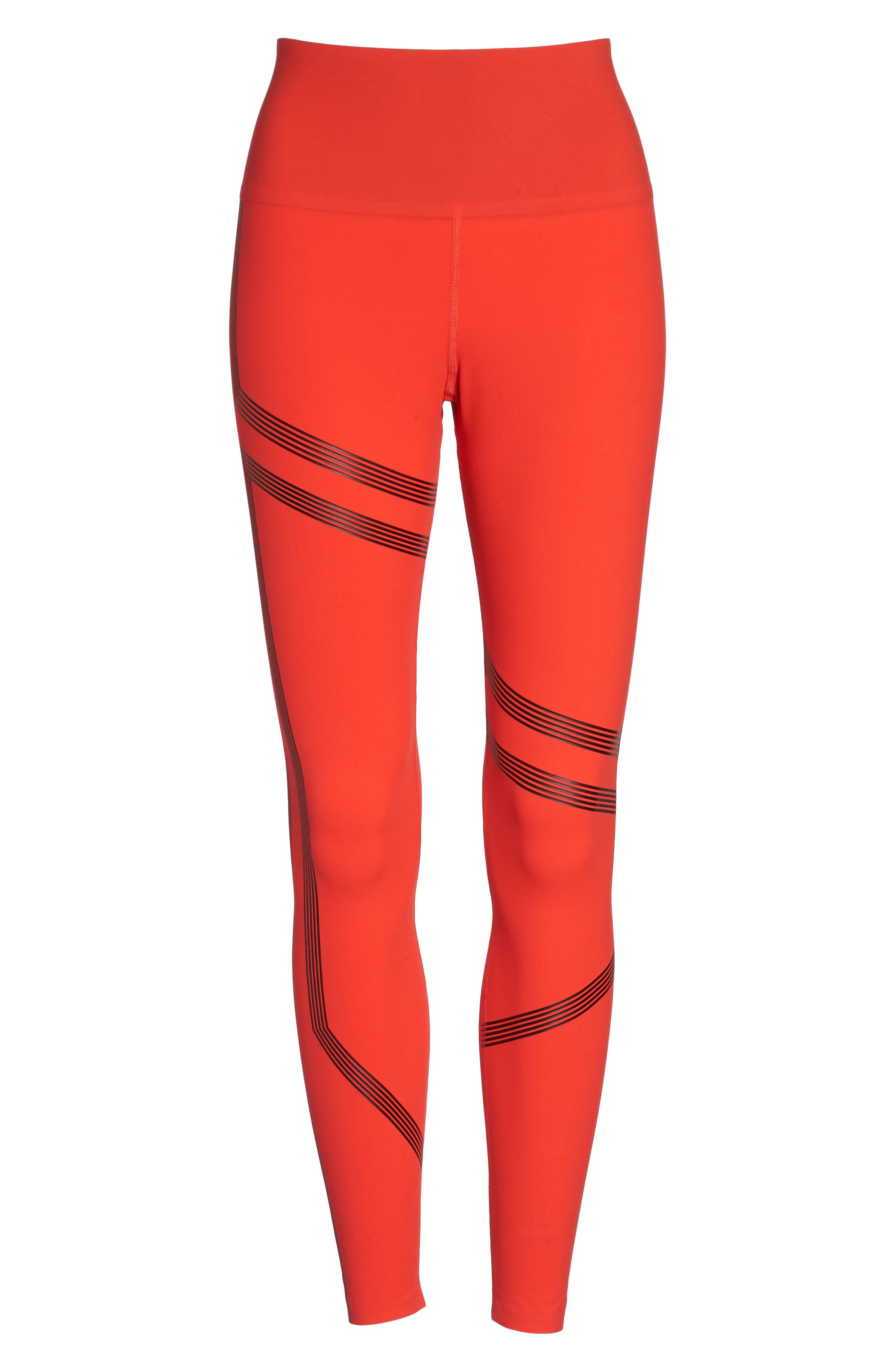 Linear High Rise Performance Tights,                             Alternate thumbnail 12, color,