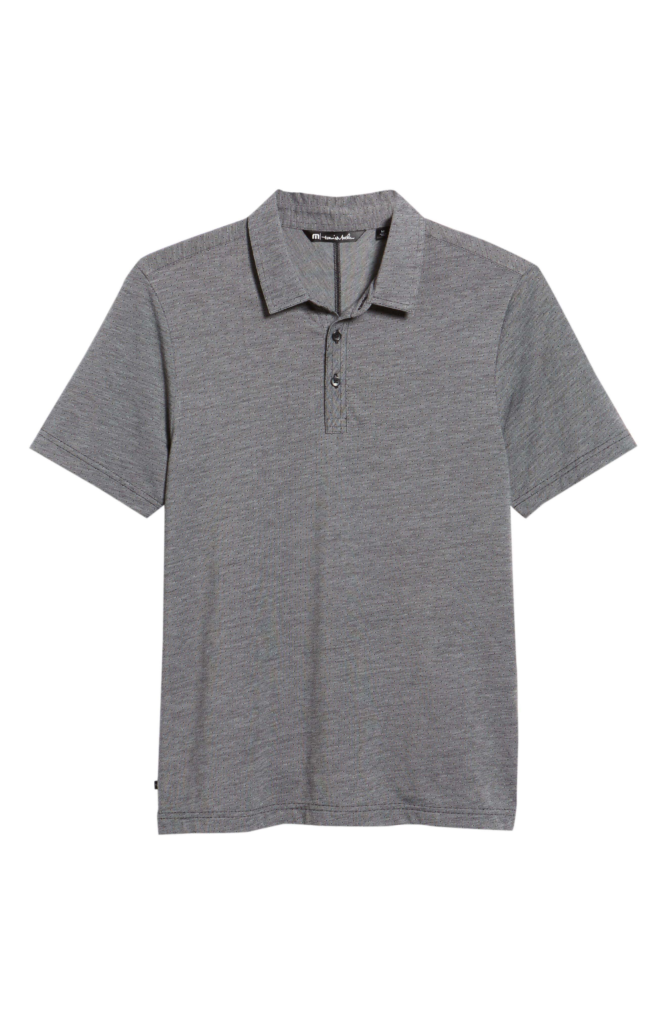 Sway Sway Trim Fit Polo,                             Alternate thumbnail 6, color,                             001