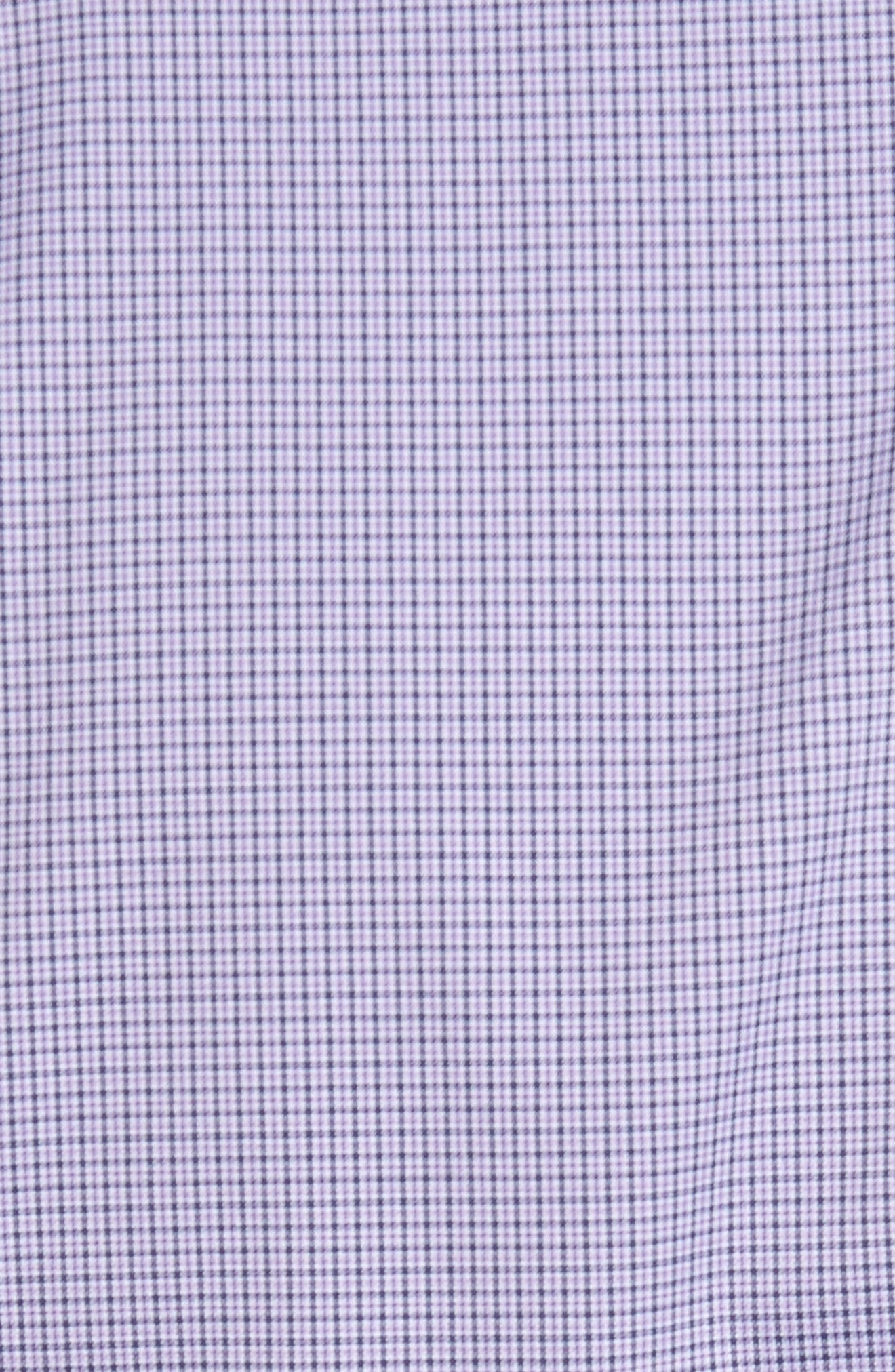 Parsons Check Performance Sport Shirt,                             Alternate thumbnail 5, color,