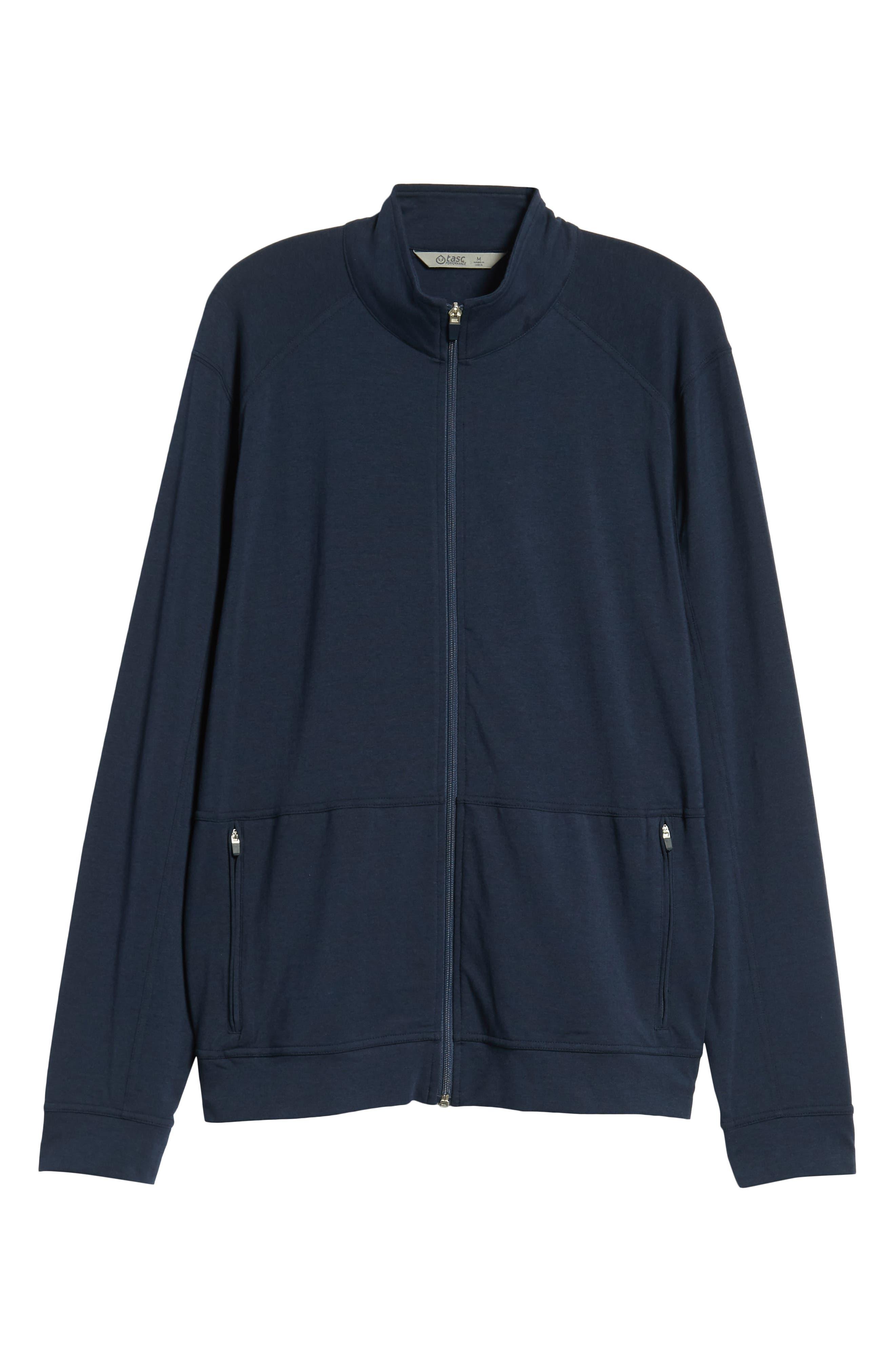 TASC PERFORMANCE,                             Carrollton Zip Jacket,                             Alternate thumbnail 5, color,                             CLASSIC NAVY
