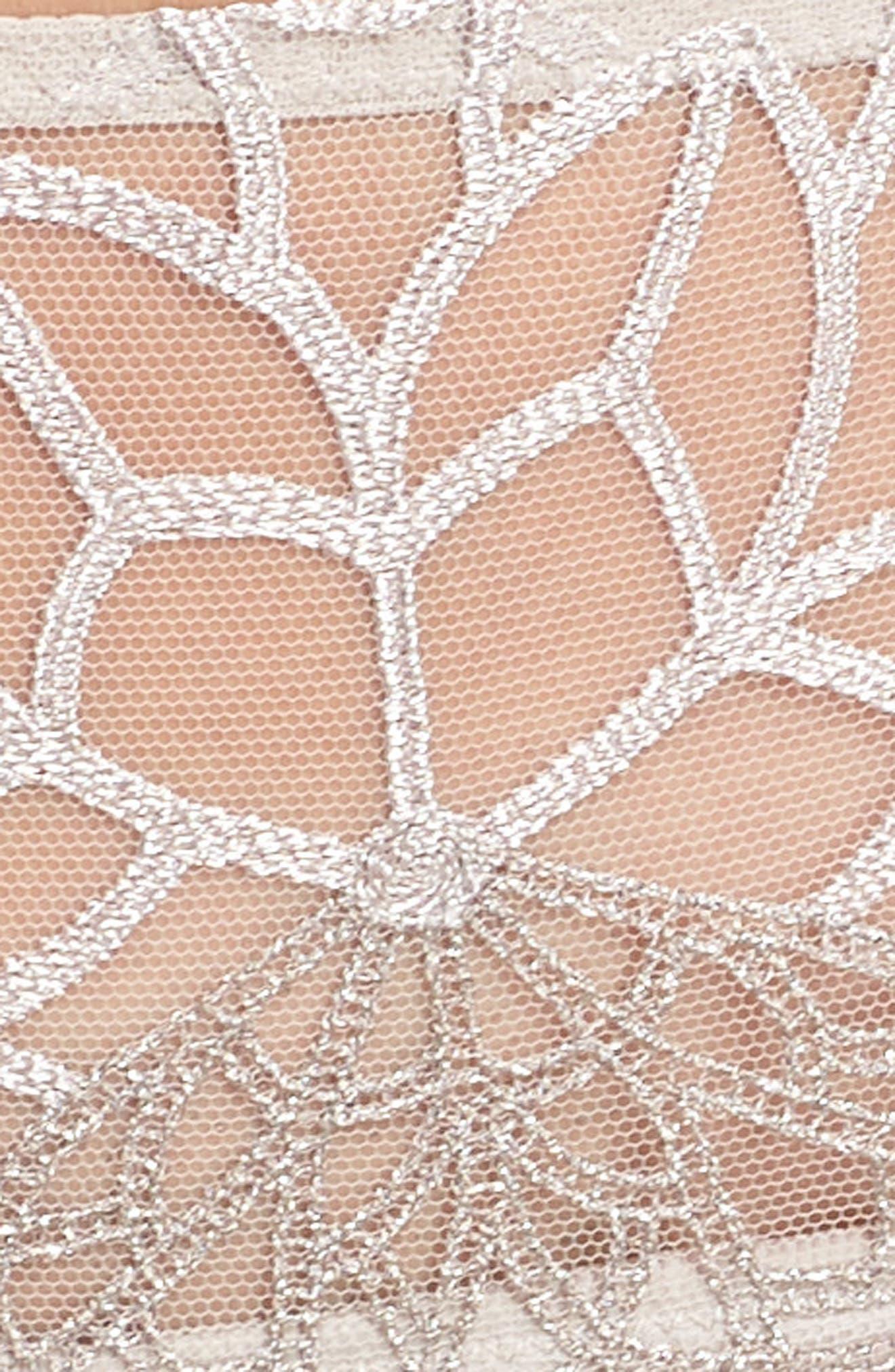 SIMONE PERELE,                             Java Hipster Panties,                             Alternate thumbnail 5, color,                             LINEN