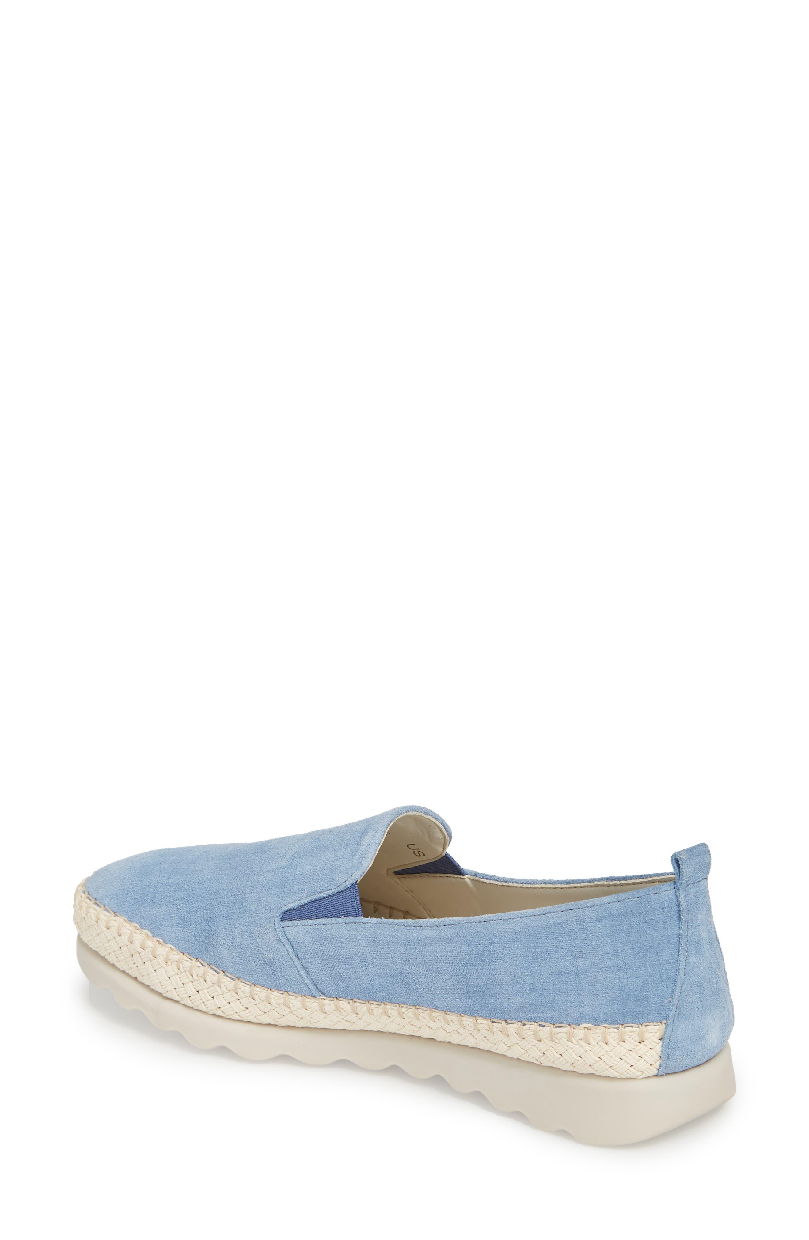 Chappie Slip-On Sneaker,                             Alternate thumbnail 2, color,                             DENIM PRINTED SUEDE