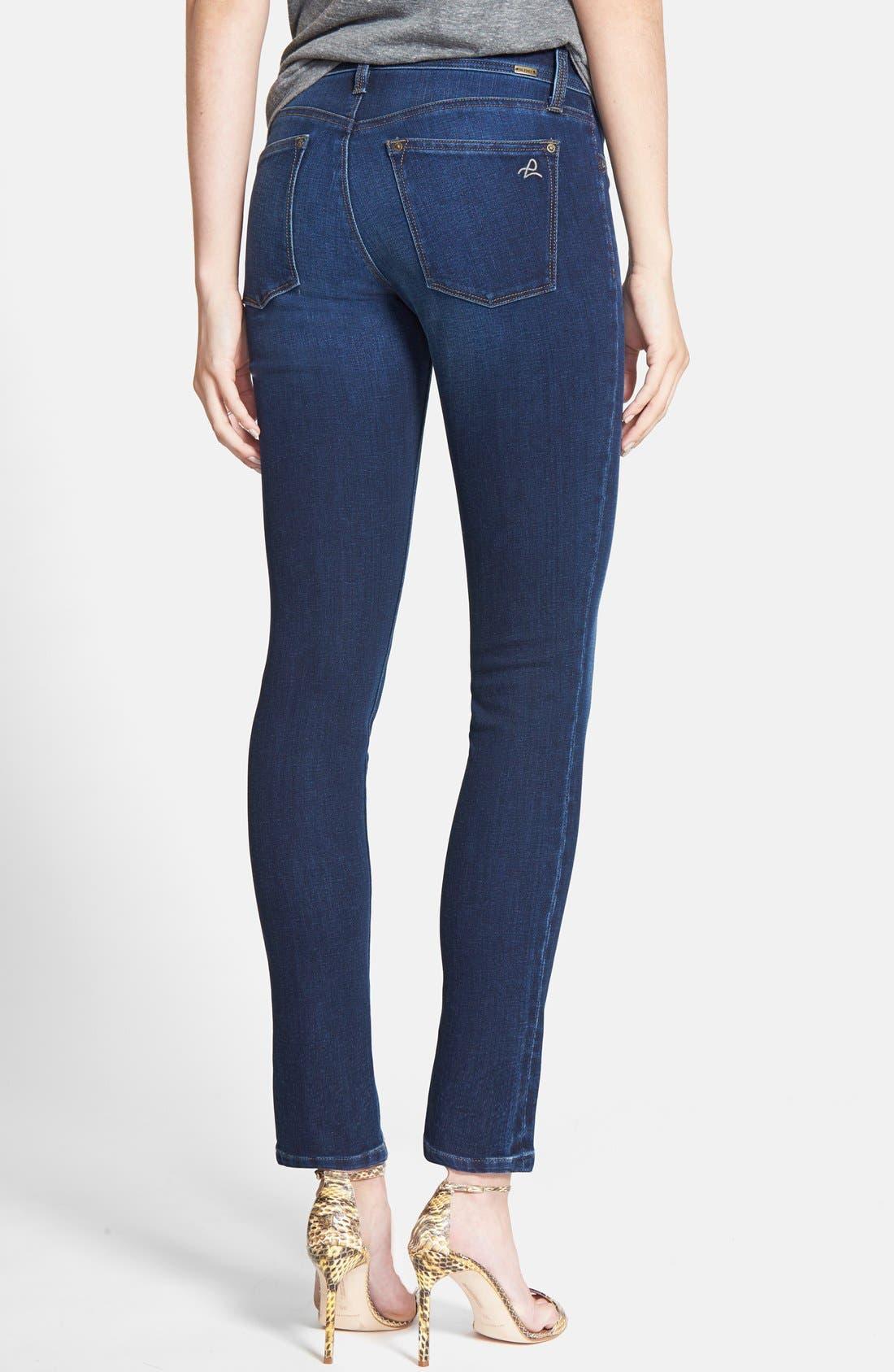 DL1961,                             'Emma' Power Legging Jeans,                             Alternate thumbnail 2, color,                             ALBANY