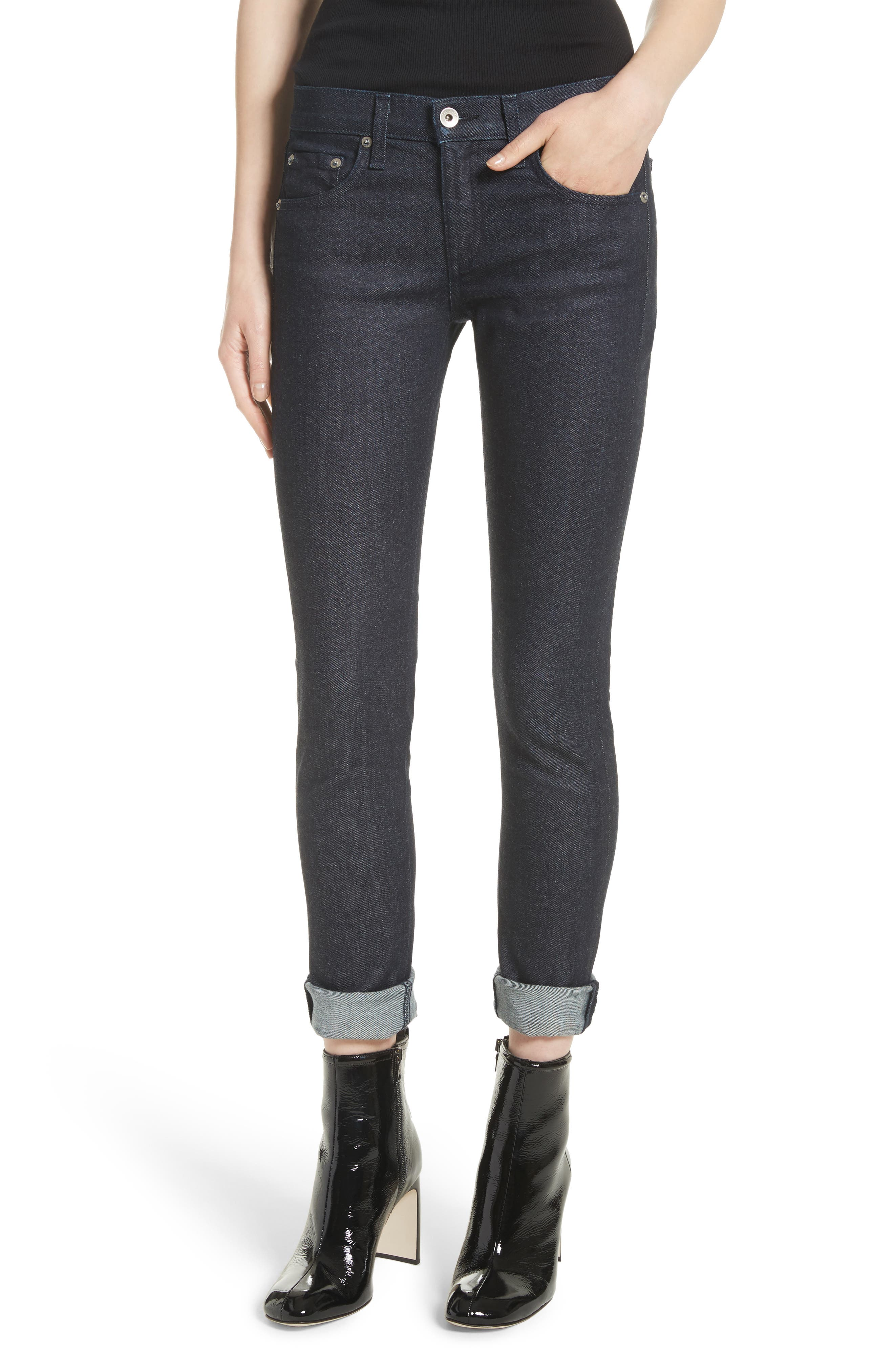 The Dre Skinny Jeans,                             Main thumbnail 1, color,                             470