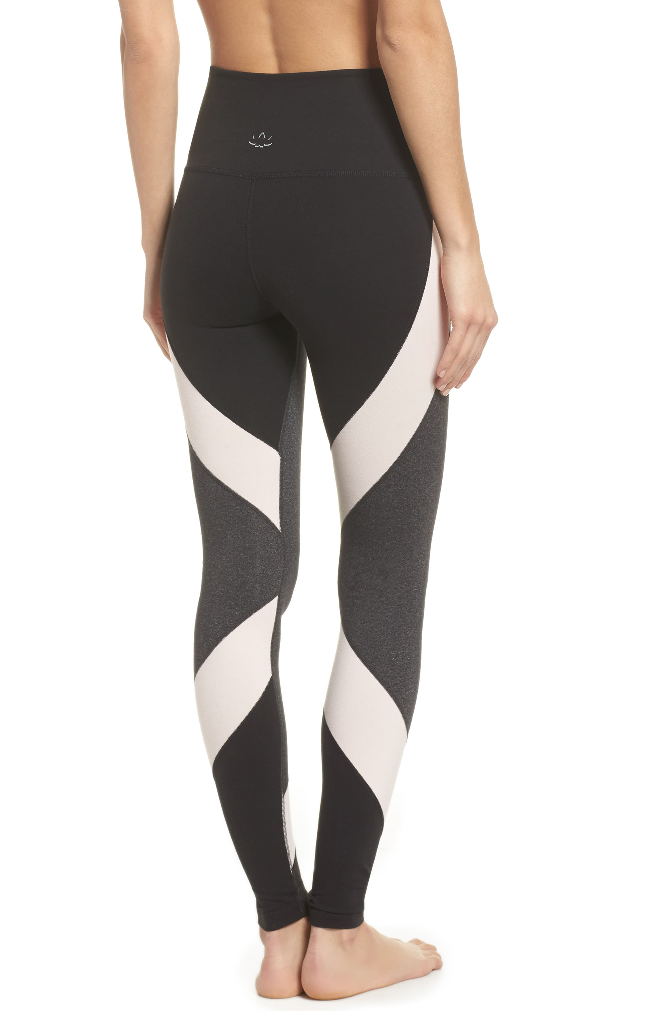 Around the Colorblock High Waist Leggings,                             Alternate thumbnail 2, color,                             062