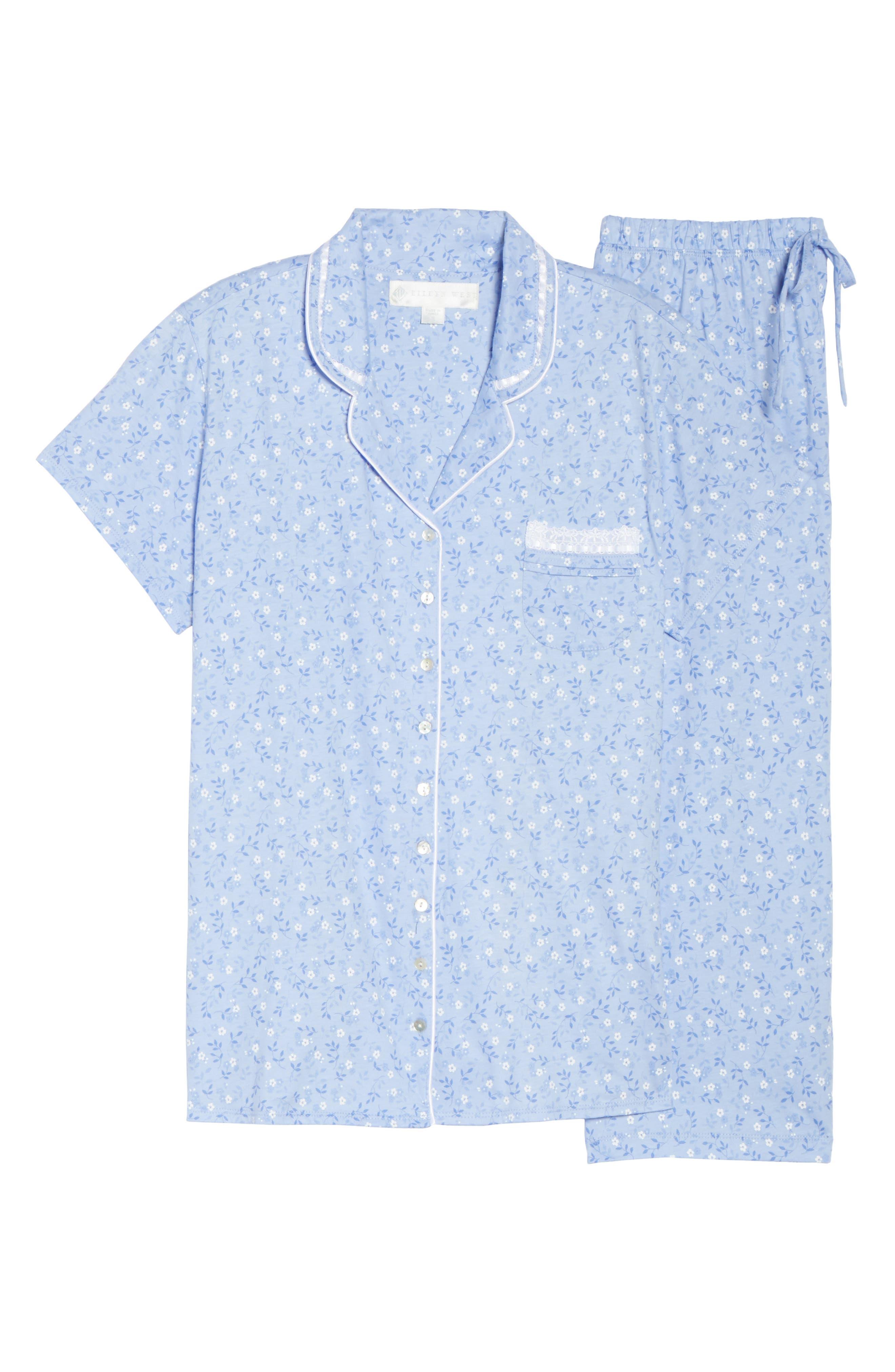 Jersey Pajamas,                             Alternate thumbnail 6, color,                             400