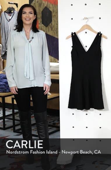 Cutout Strap Fit & Flare Dress, sales video thumbnail