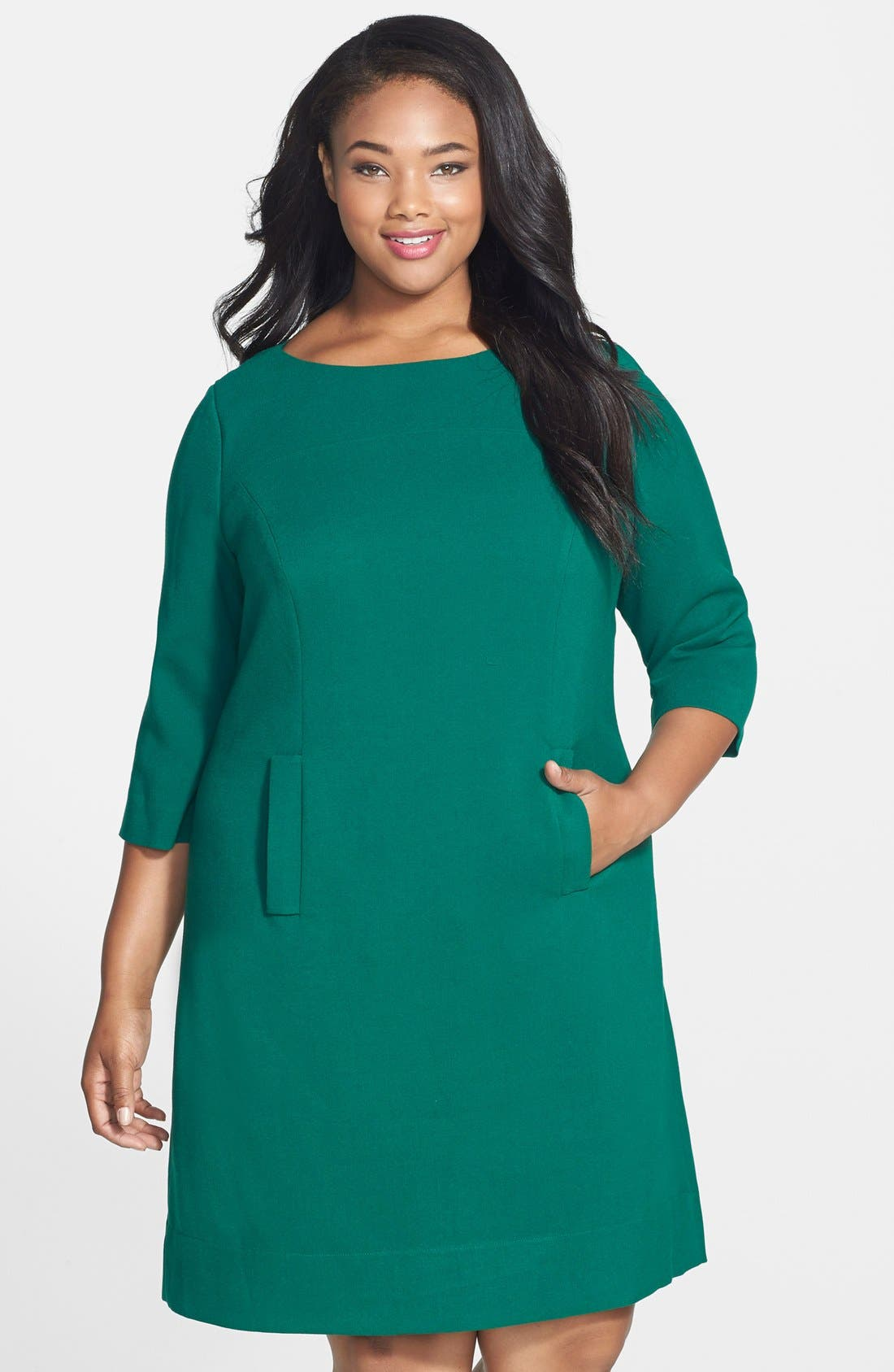 Pocket Detail Shift Dress,                         Main,                         color,