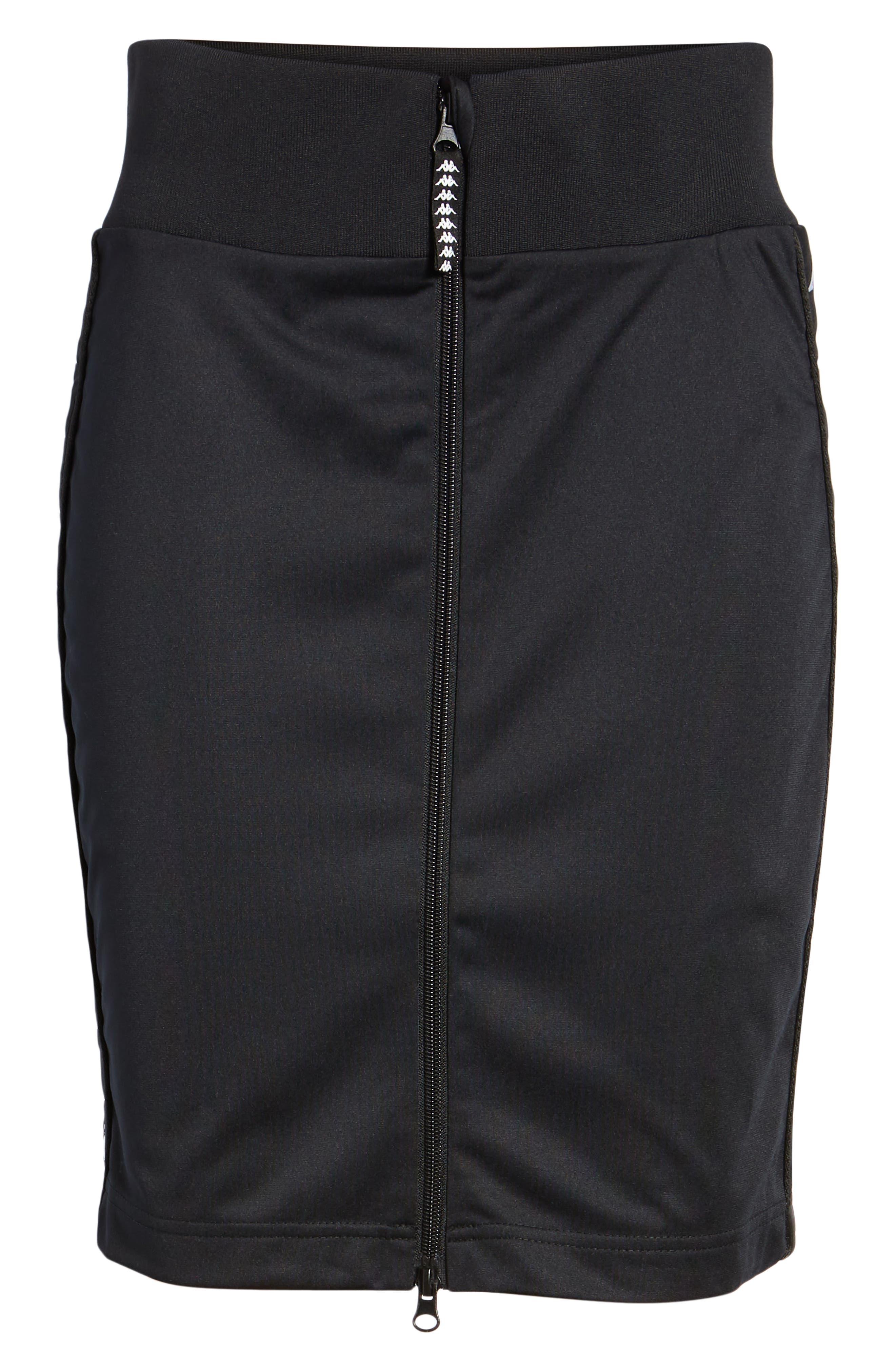 Slim Classic Skirt,                             Alternate thumbnail 7, color,                             001