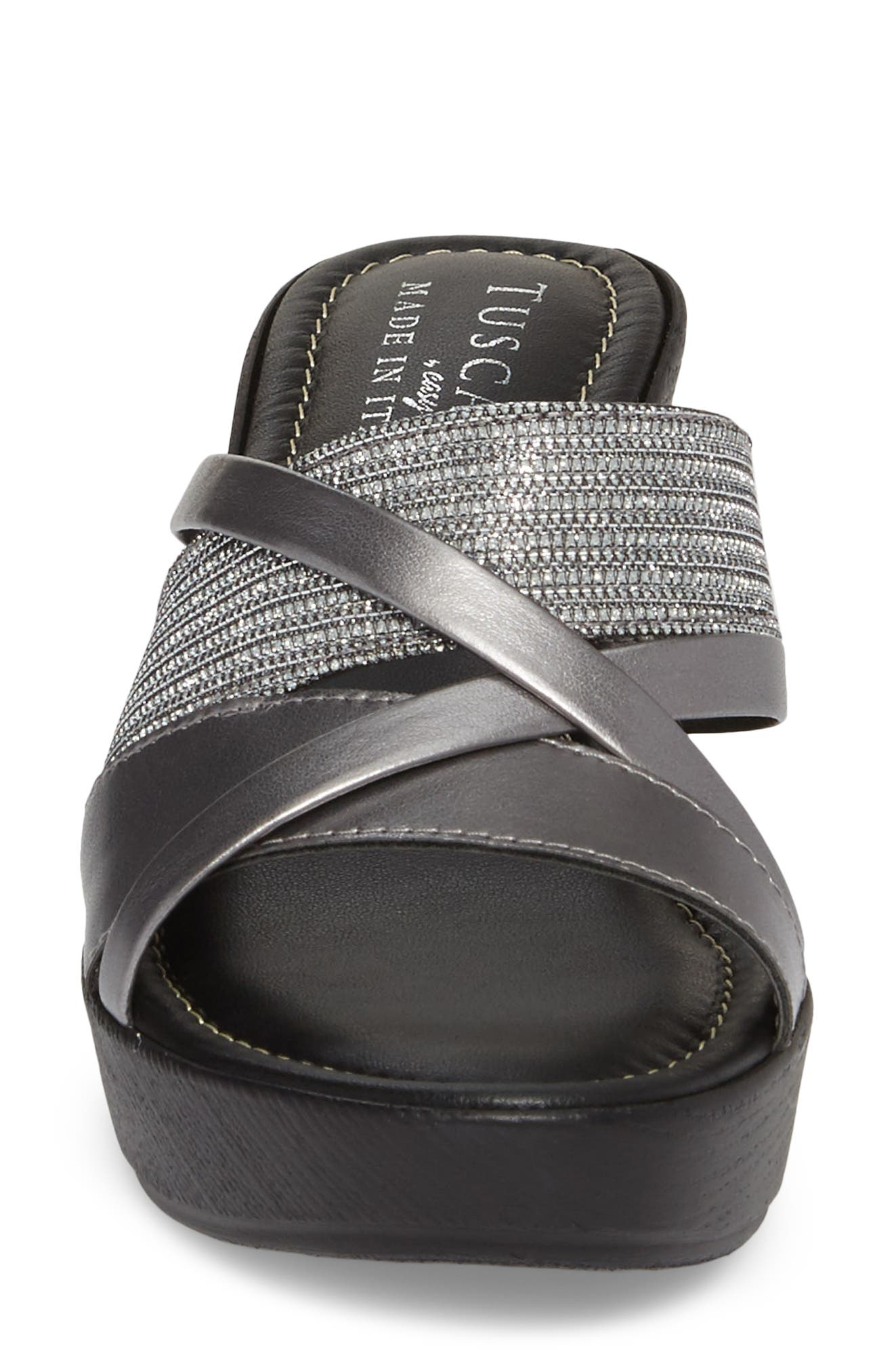 by East Street<sup>®</sup> Lucette Strappy Wedge Mule,                             Alternate thumbnail 17, color,