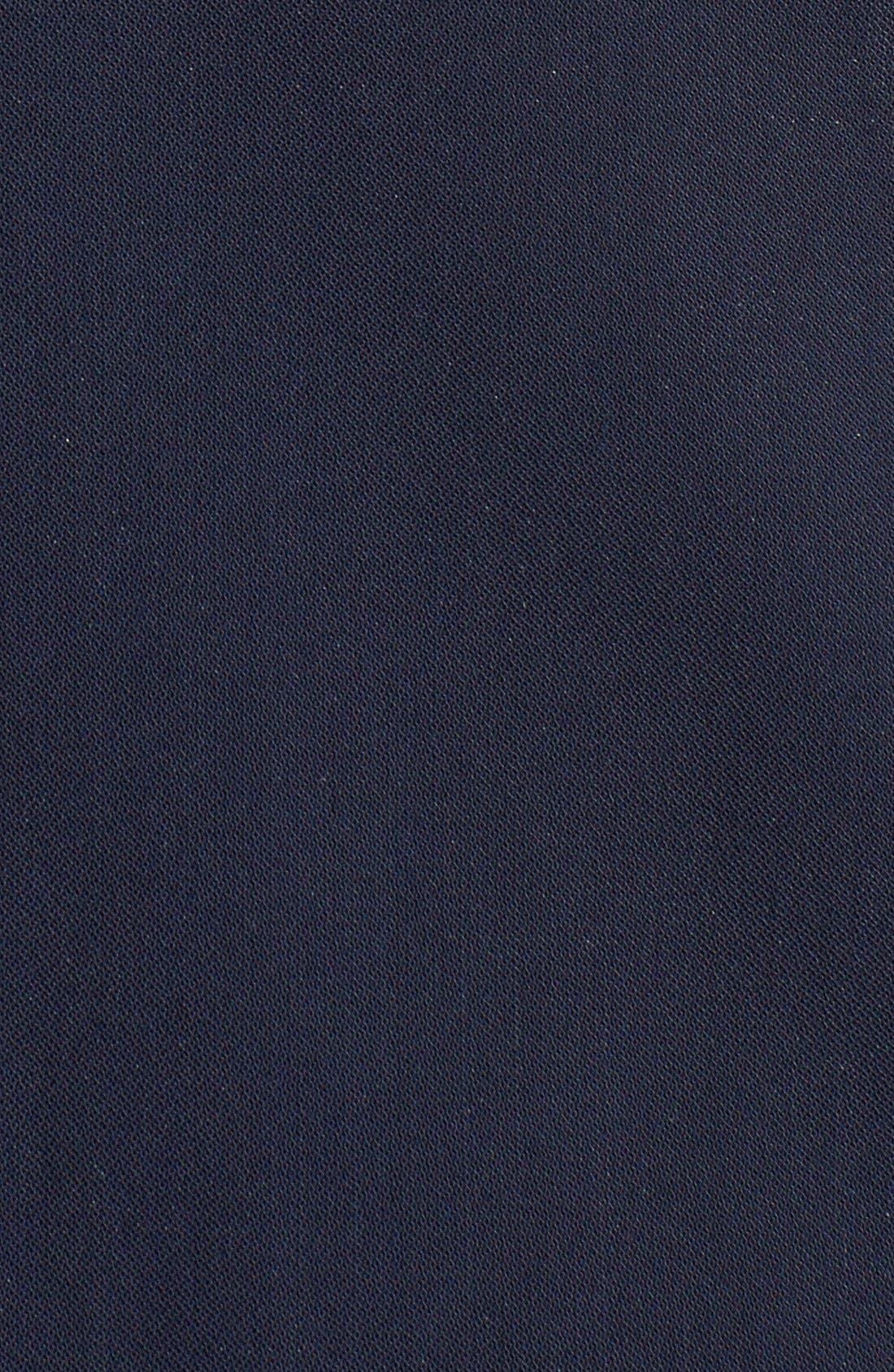 THEORY,                             'Slyra' Quarter Zip A-Line Dress,                             Alternate thumbnail 3, color,                             410