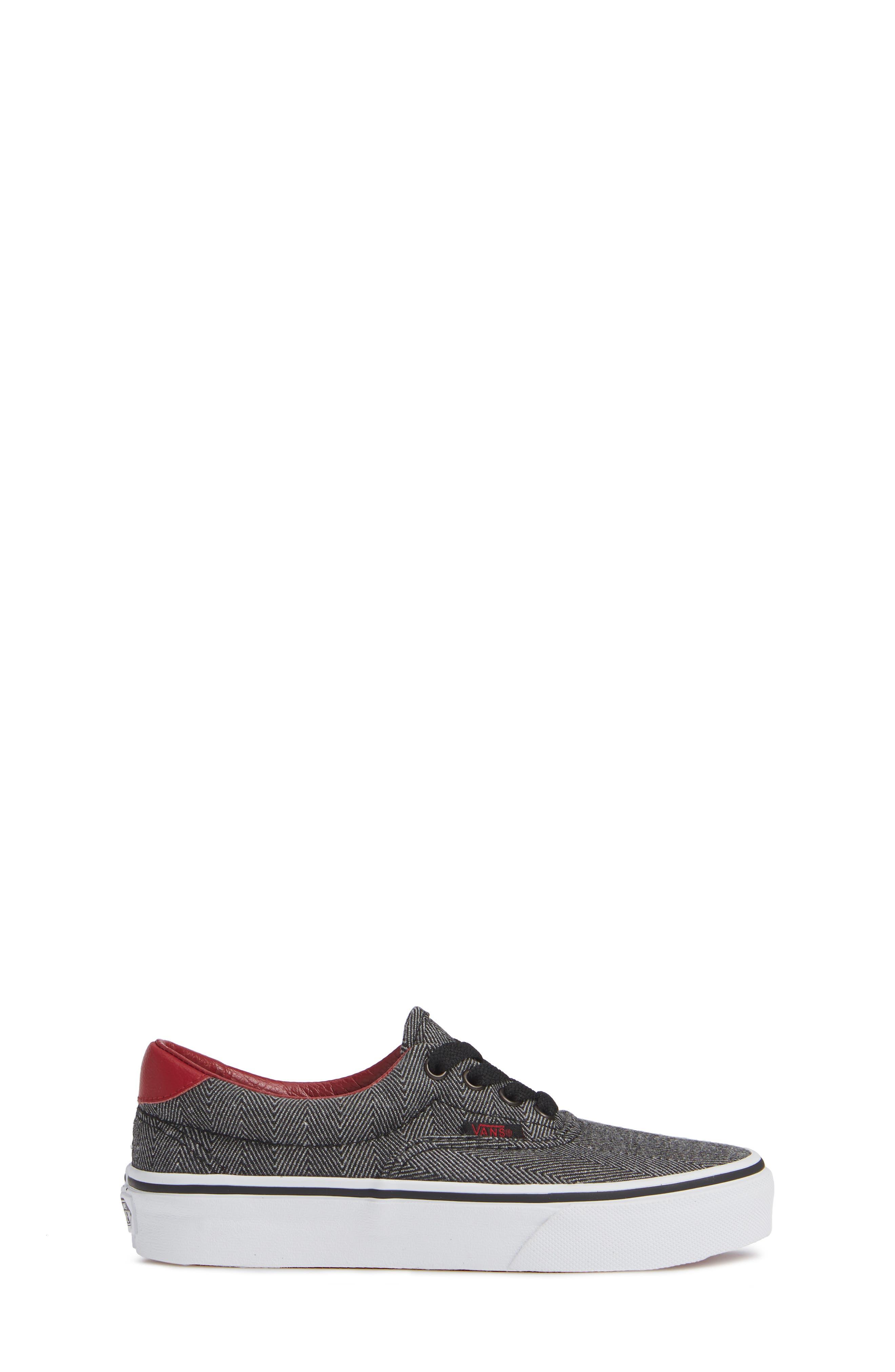 Era 59 Bleacher Sneaker,                             Alternate thumbnail 3, color,                             002