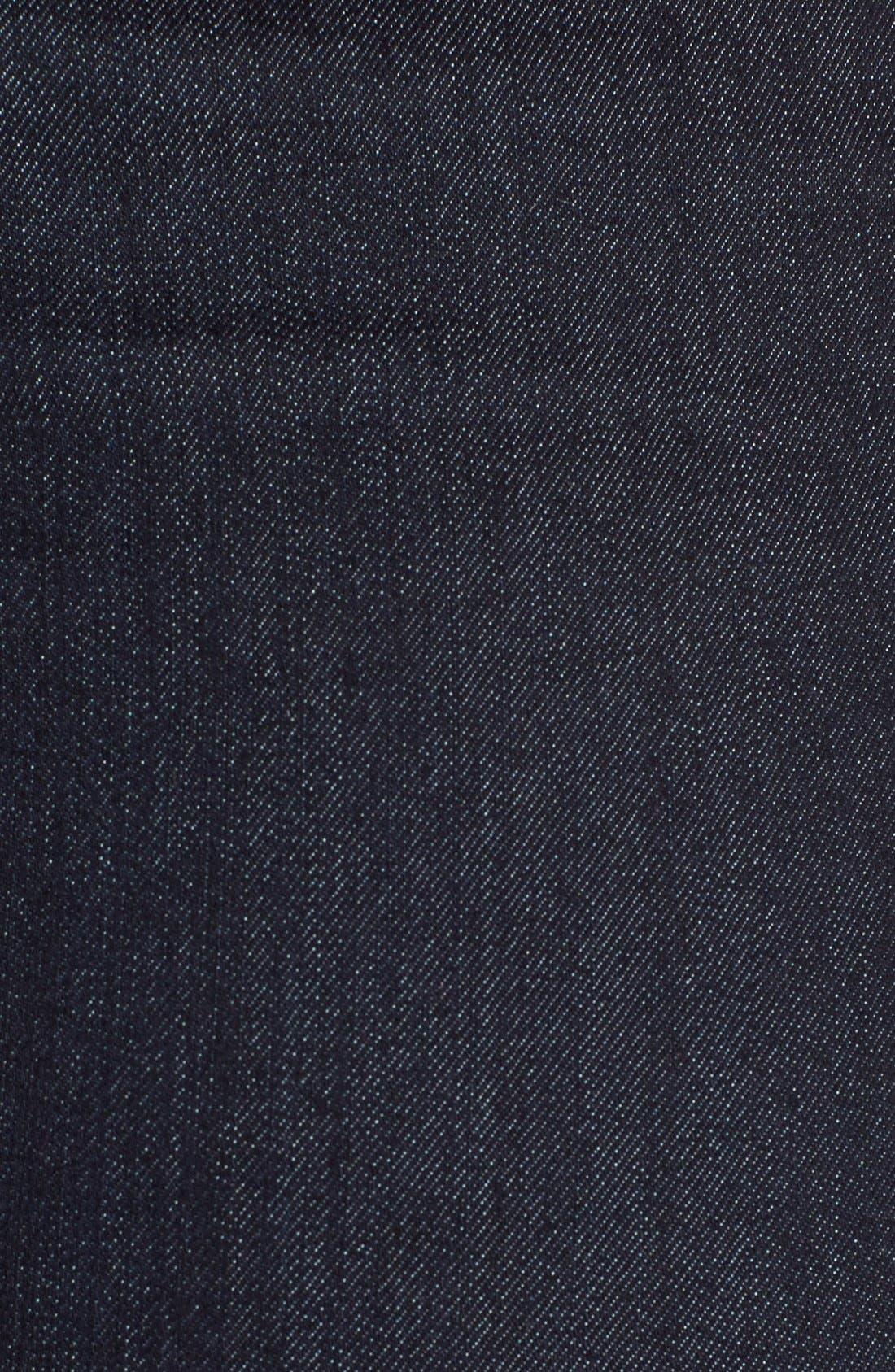 'Briella' Stretch Roll Cuff Denim Shorts,                             Alternate thumbnail 6, color,                             400