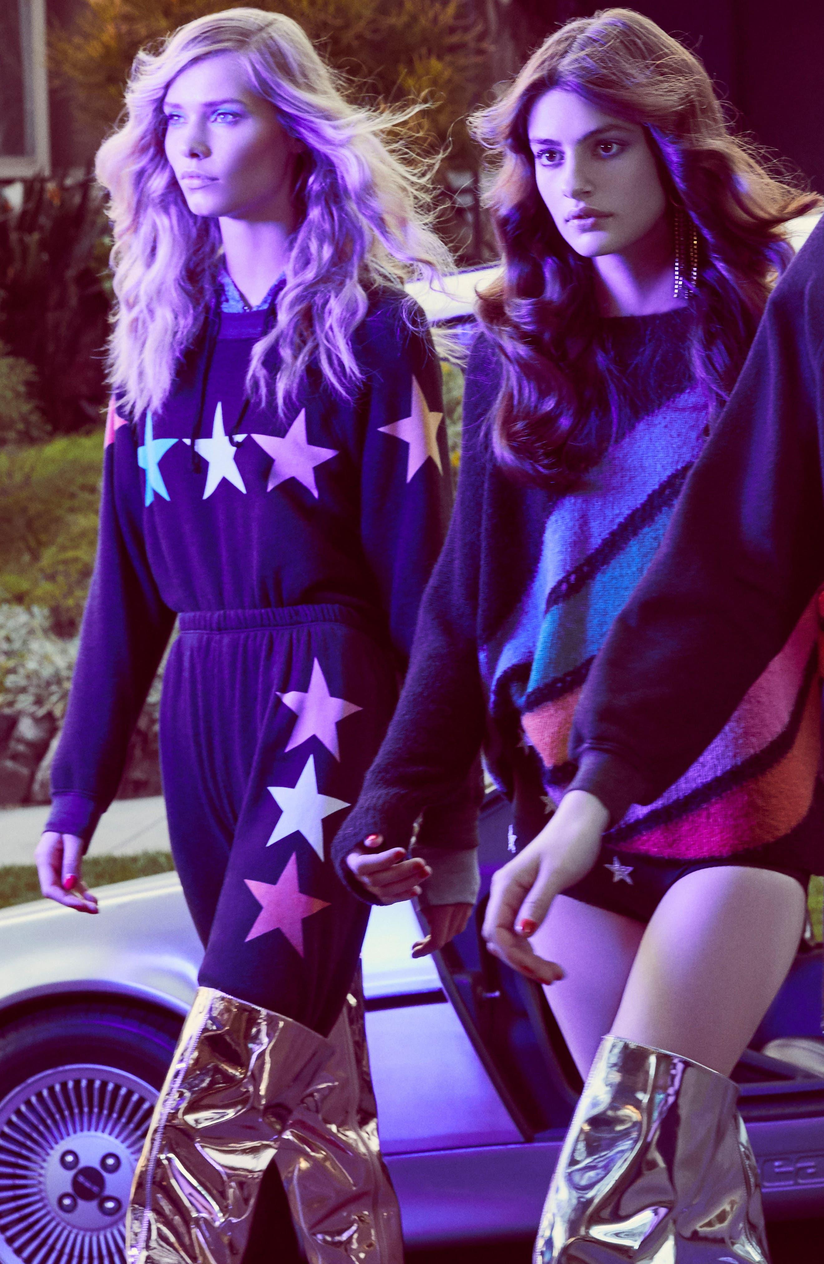 Arcade Stars Sommers Sweatshirt,                             Alternate thumbnail 8, color,                             001
