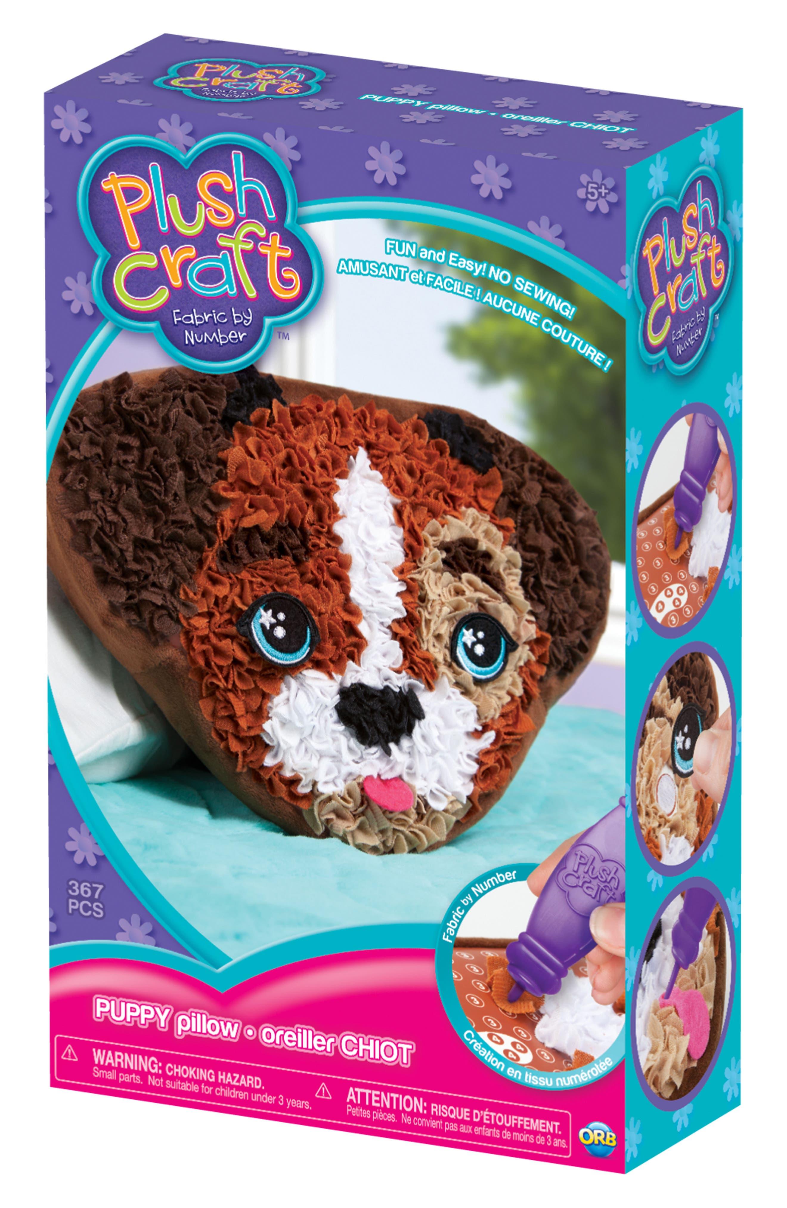 PlushCraft Puppy Pillow Craft Kit,                             Alternate thumbnail 2, color,                             200
