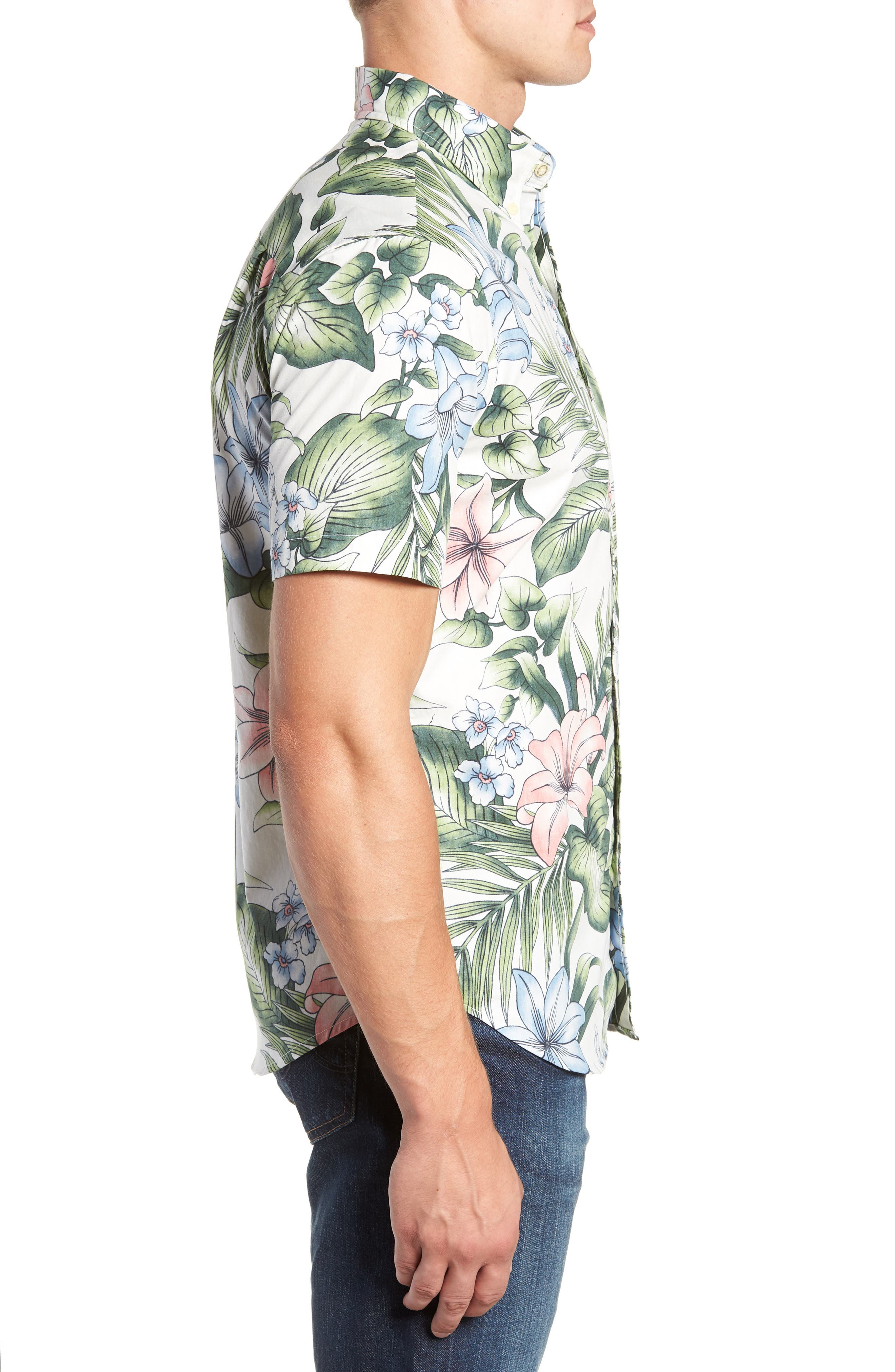 Uluhehi Regular Fit Sport Shirt,                             Alternate thumbnail 4, color,                             104