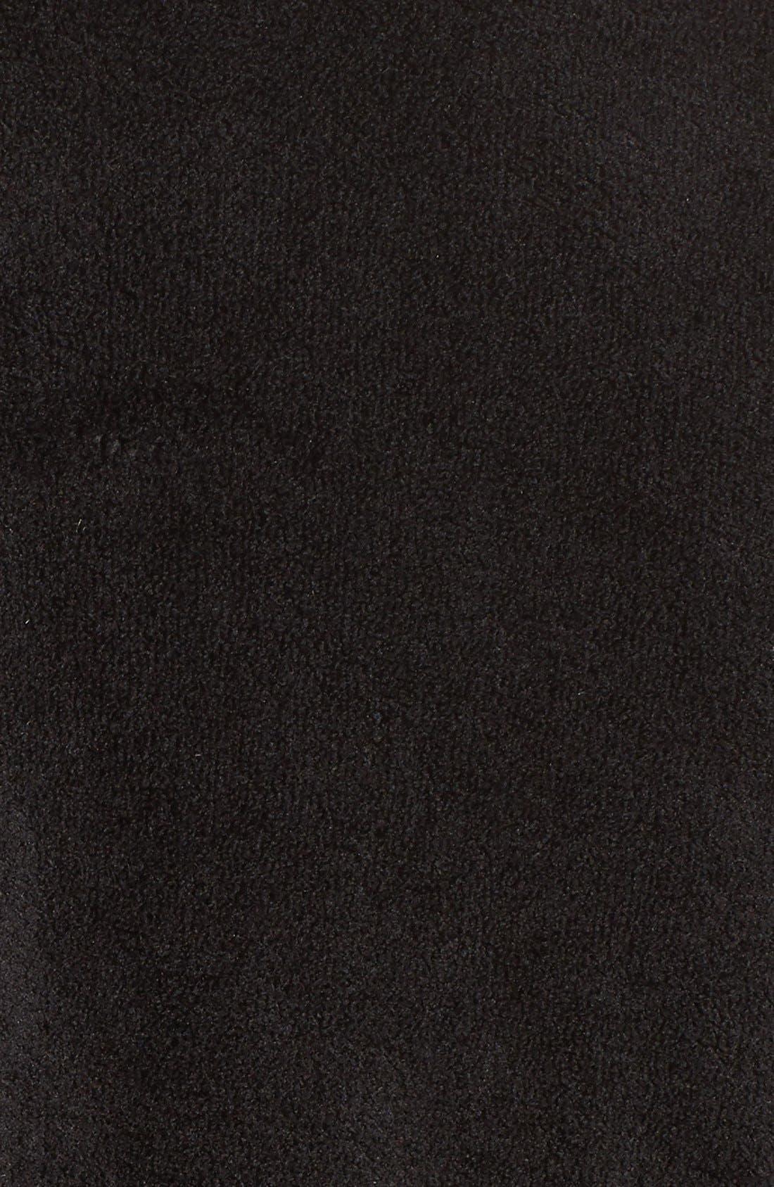 Chenille Robe,                             Alternate thumbnail 4, color,                             001
