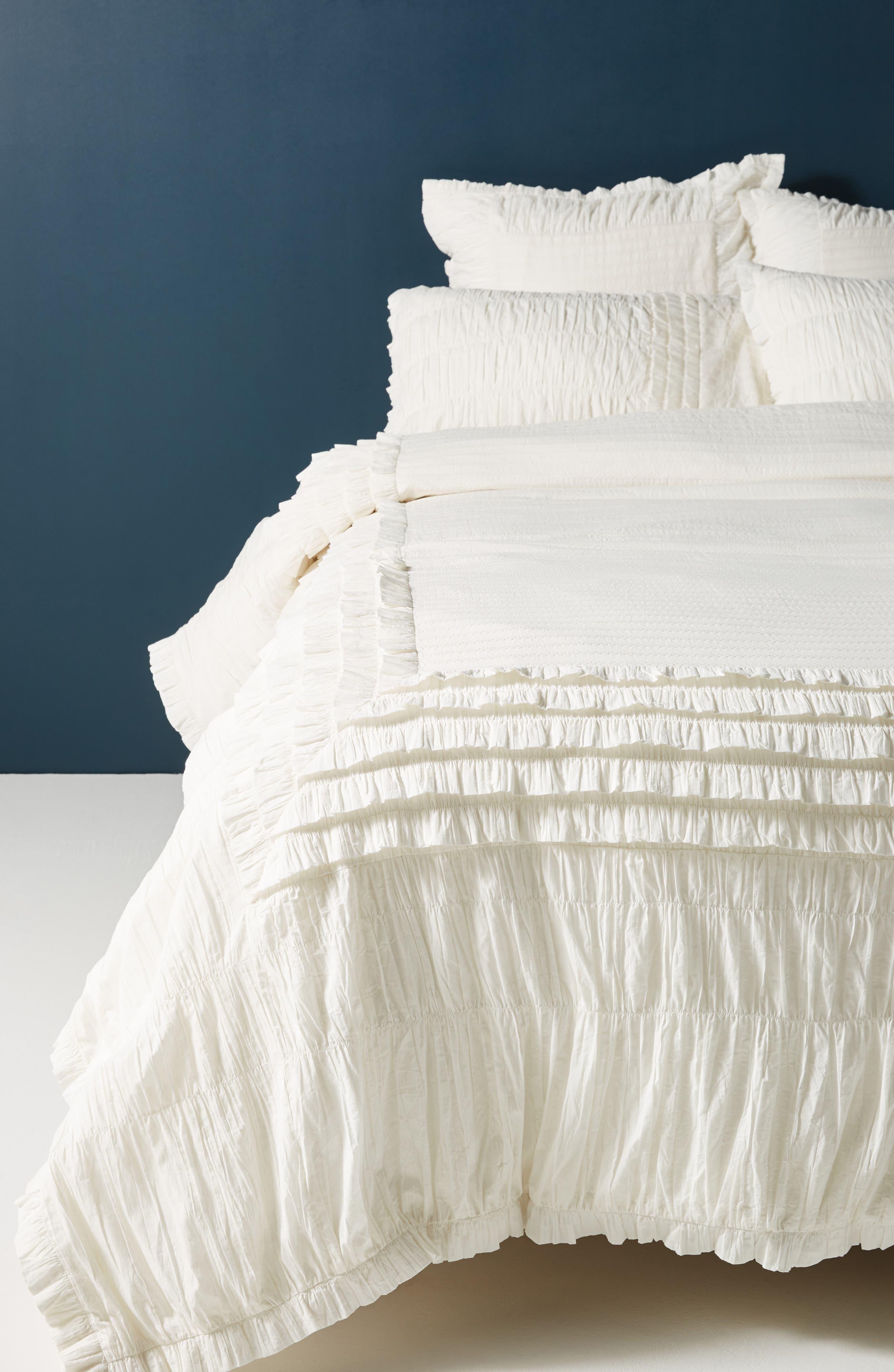 Sagebrush Duvet Cover,                         Main,                         color, IVORY