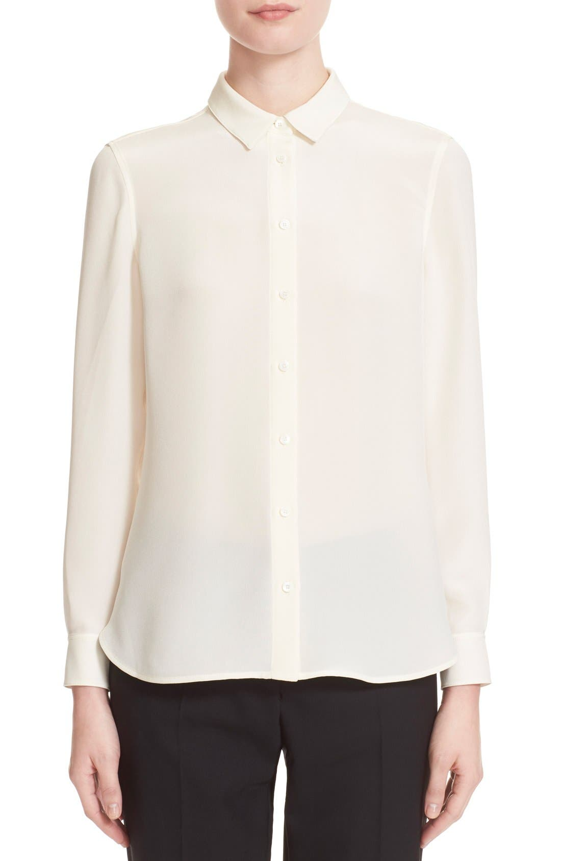 'Aster' Mulberry Silk Blouse, Main, color, 103