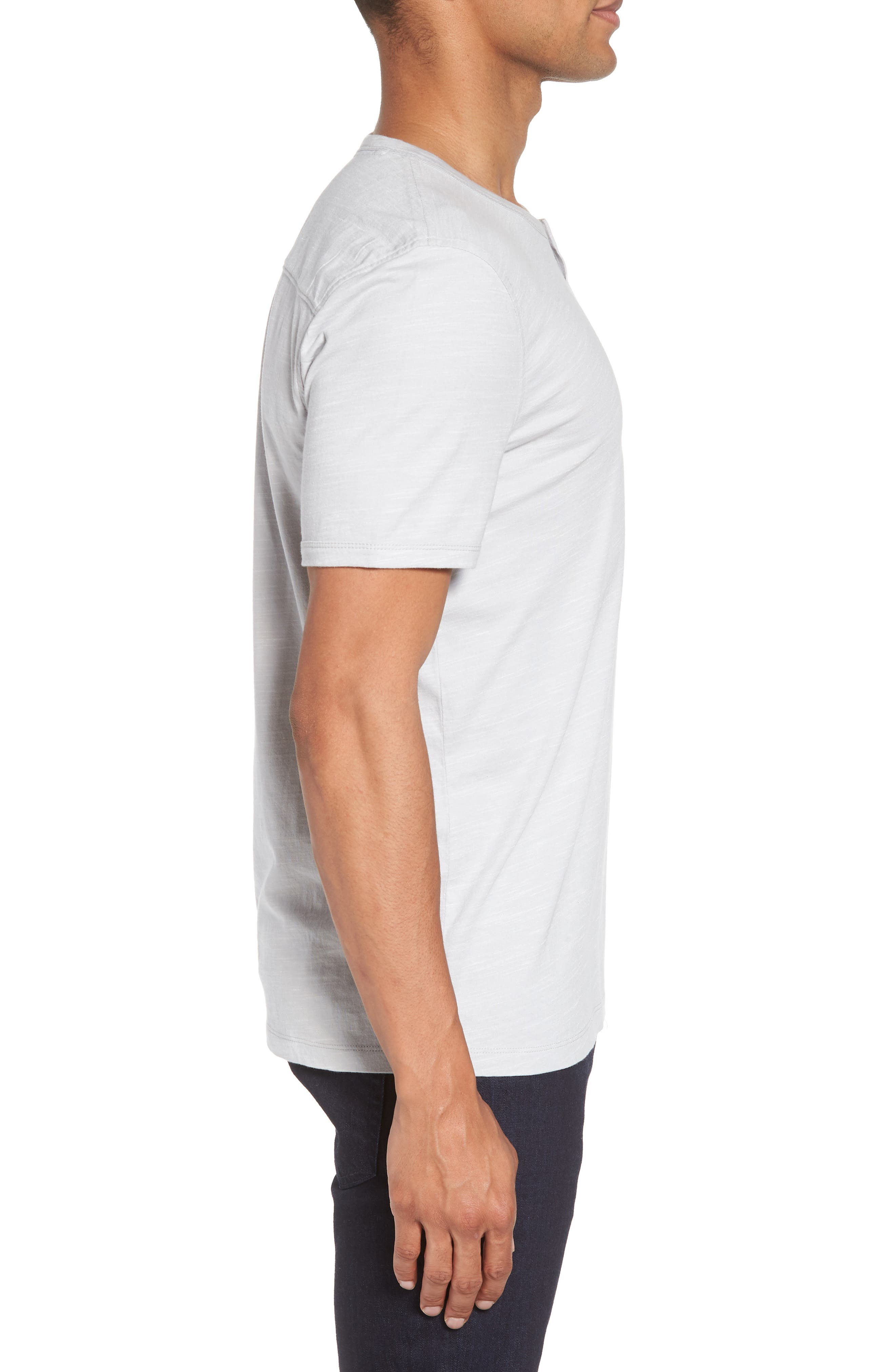 Space Dyed One-Button Henley T-Shirt,                             Alternate thumbnail 12, color,