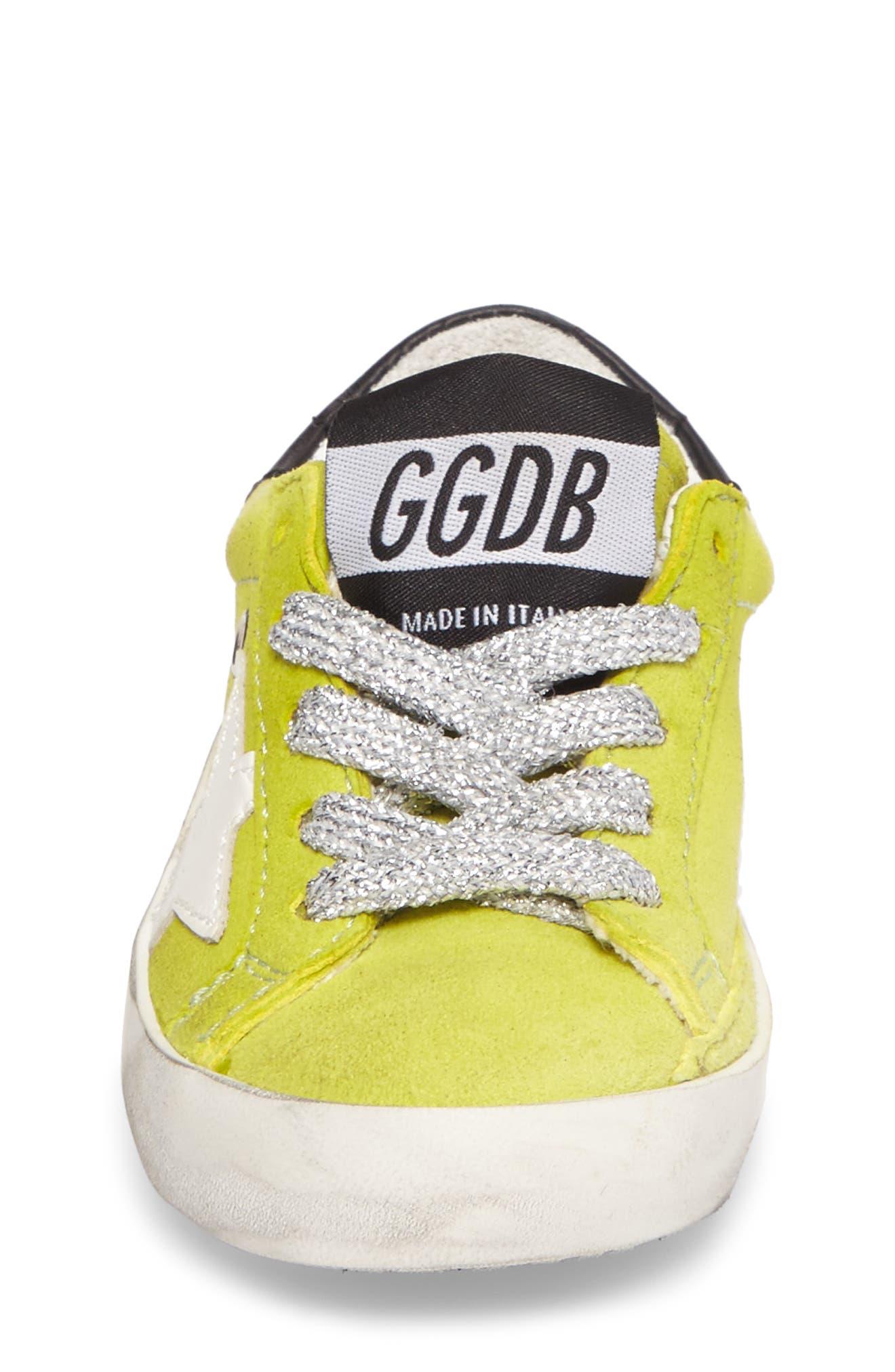 Superstar Low Top Sneaker,                             Alternate thumbnail 4, color,                             300