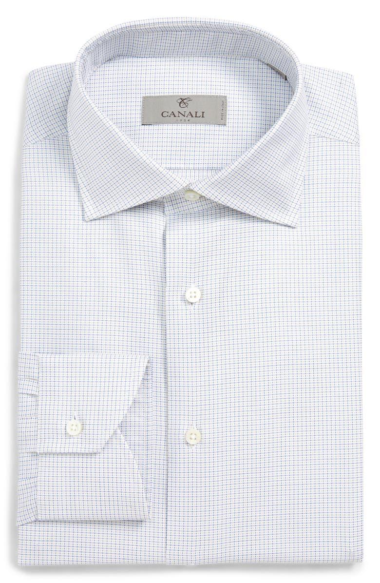 5e8d564ce98 Canali Regular Fit Check Dress Shirt